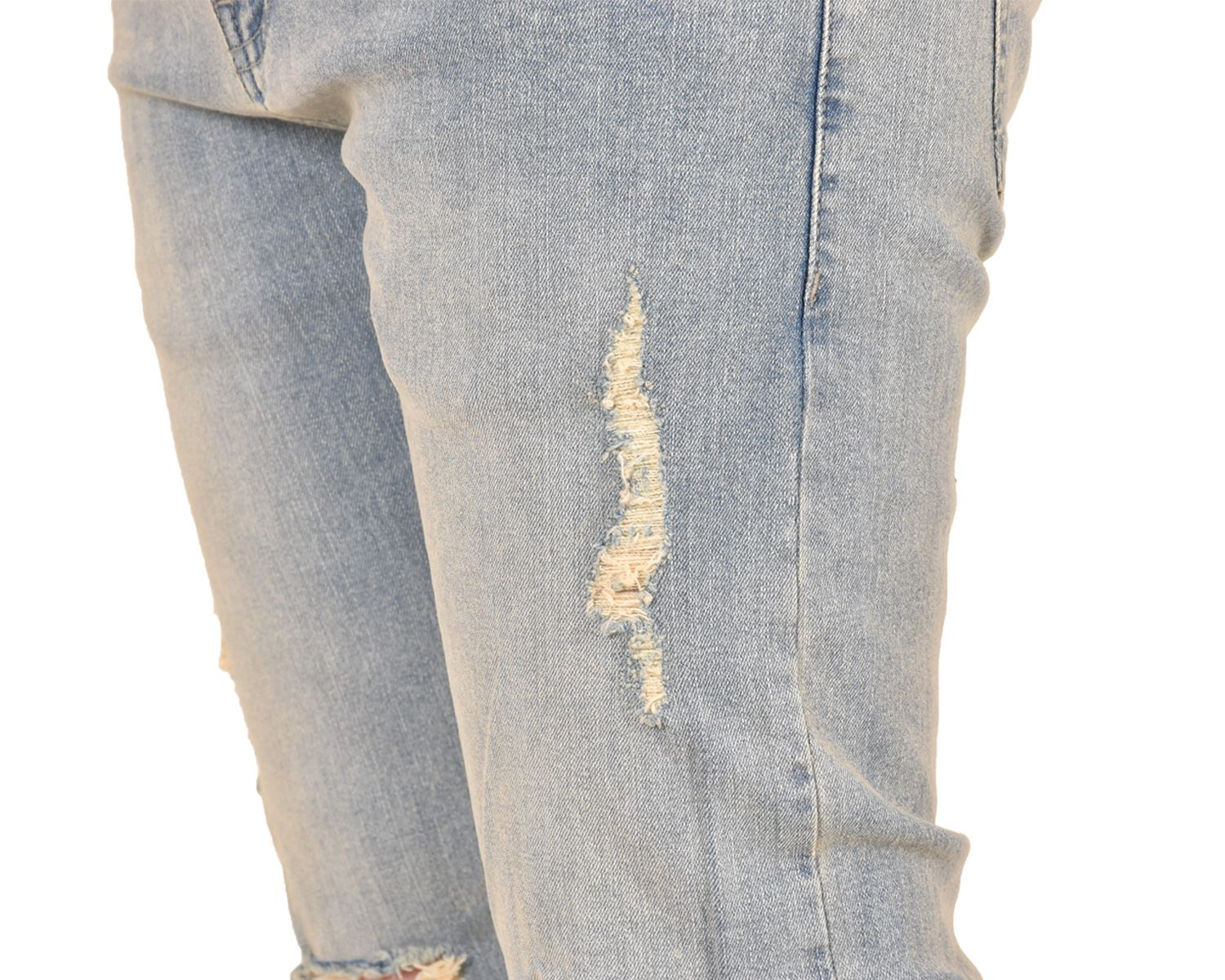 Mens-Ripped-Jeans-Skinny-Slim-Fit-Stretch-Distressed-Denim-Pants-Trousers-28-40 thumbnail 13