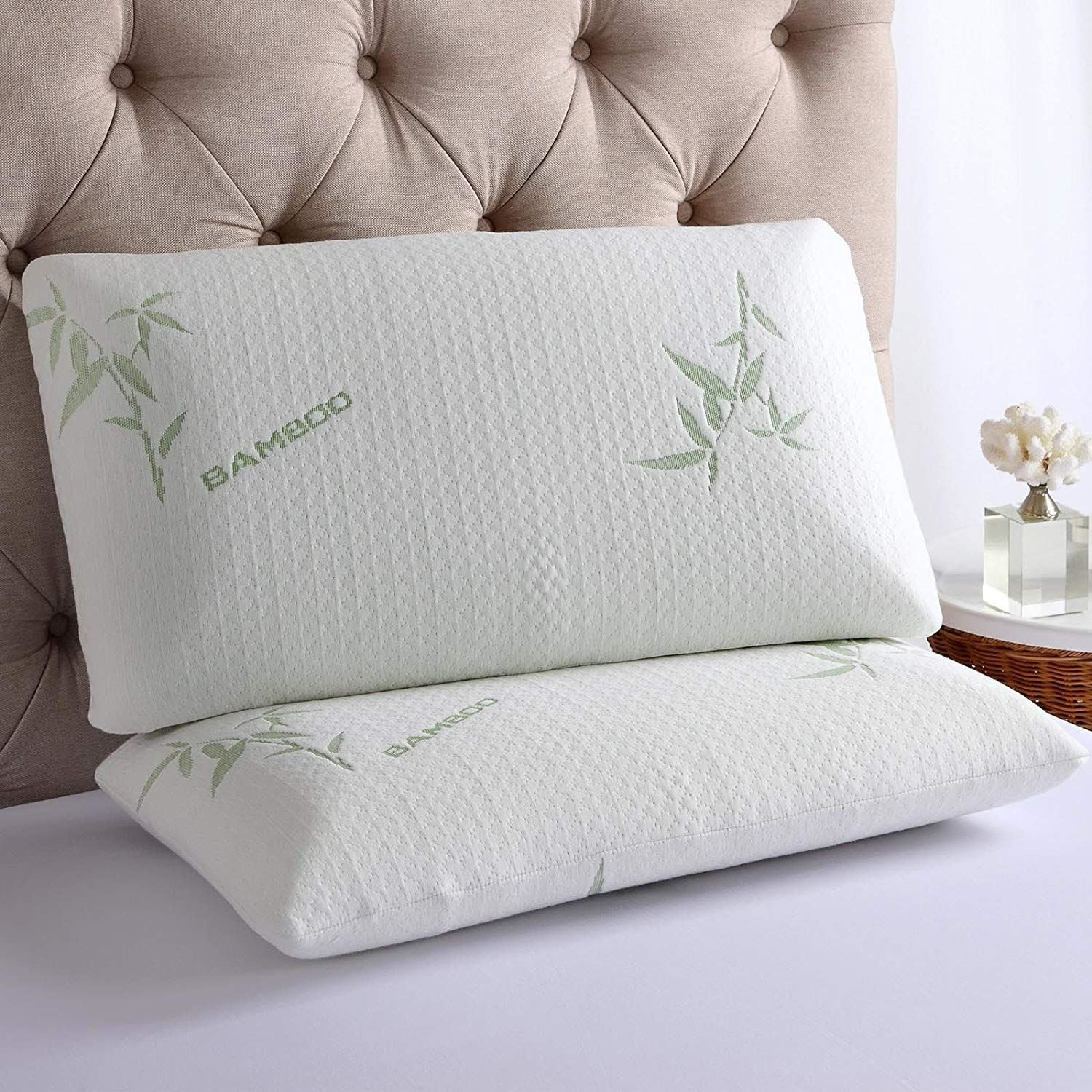 Luxury Bedding Bamboo Anti Bacterial Premium Support