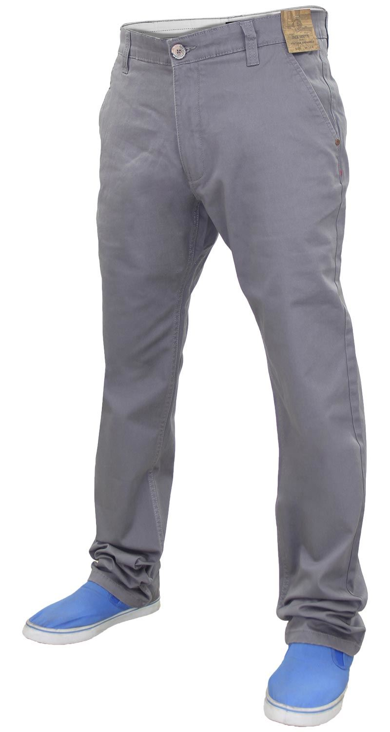 Jacksouth-Mens-Chinos-Trousers-Regular-Fit-Stretch-Cotton-Rich-Twill-Jeans-Pants thumbnail 8