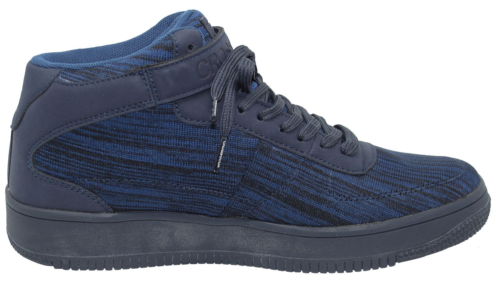 Mens-New-Crosshatch-Fleetfoot-Trainers-Hi-Top-Ankle-Boots-Lace-up-Comfy-Shoes thumbnail 41