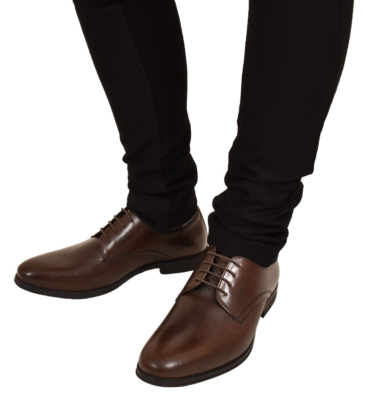 Mens-UK-Style-Leather-Lining-Formal-Office-Wedding-Smart-Work-Brogue-Shoes thumbnail 51