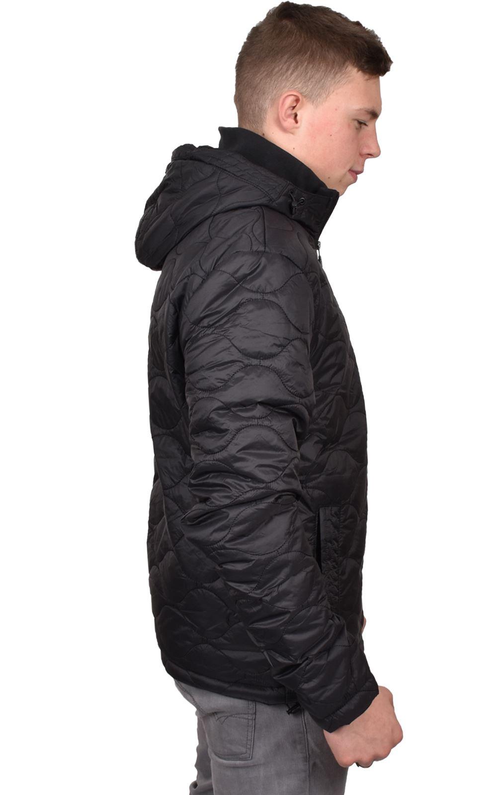Mens-Smith-amp-Jones-Jacket-Full-Zip-Fleece-Lined-Hooded-Light-Weight-Warm-Coat thumbnail 5