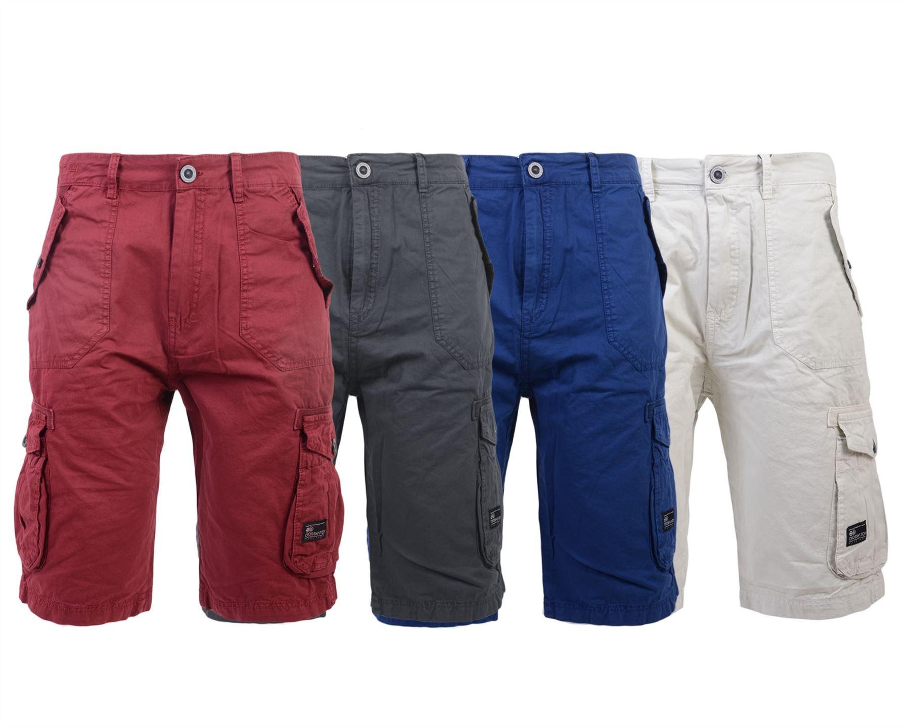 uomo bermuda jeans shorts stretch denim breve Capri Pantaloni Estate 028 Nero