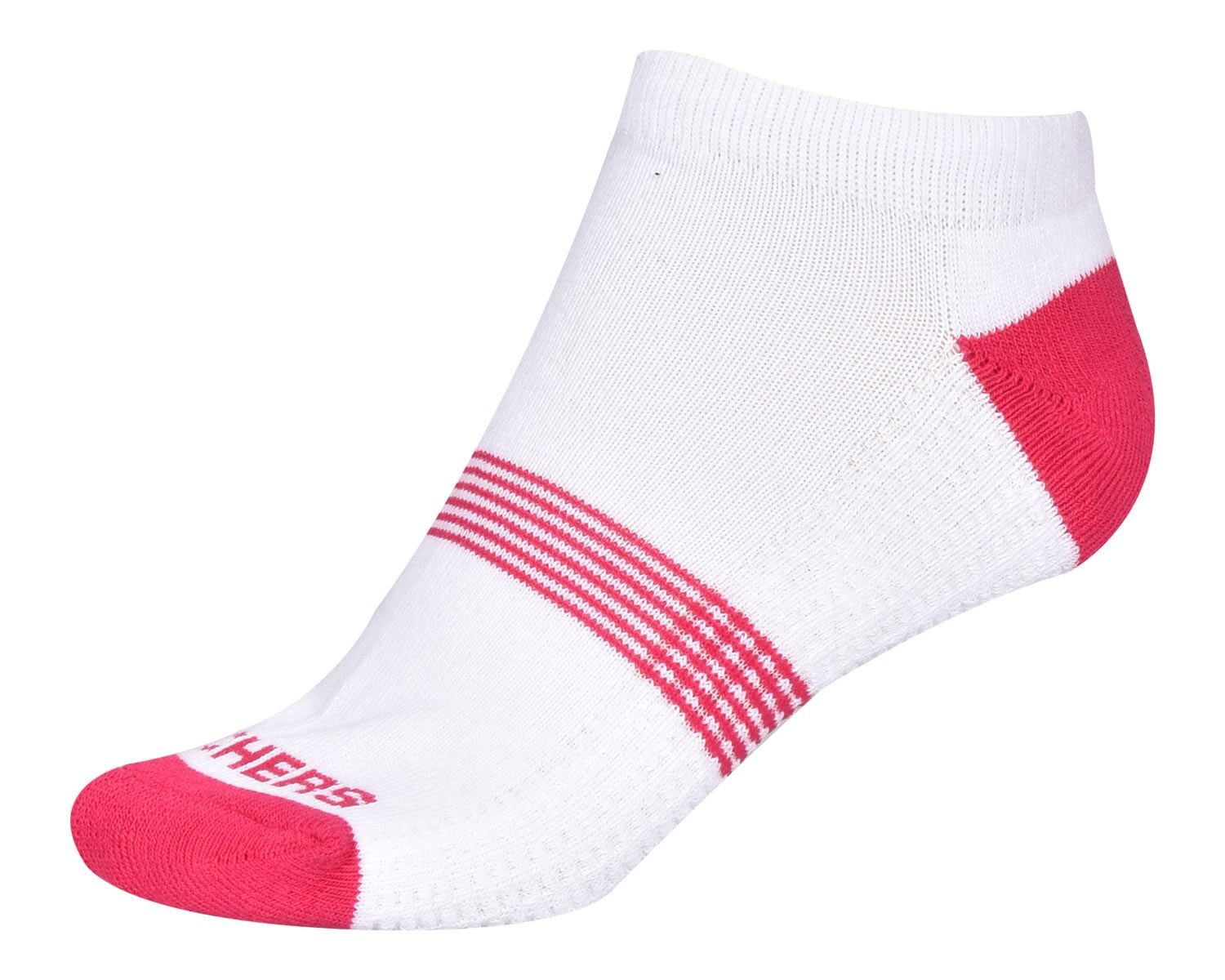 Skechers Womens Ankle Socks Trainers Liner Cushioned Ladies Sports 3 and 5 Pairs