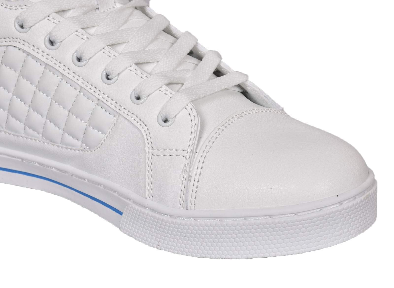 Mens-Trainers-Lace-up-Crosshatch-High-Tops-Ankle-Padded-Shoes-New-UK-Sizes-7-12 thumbnail 25