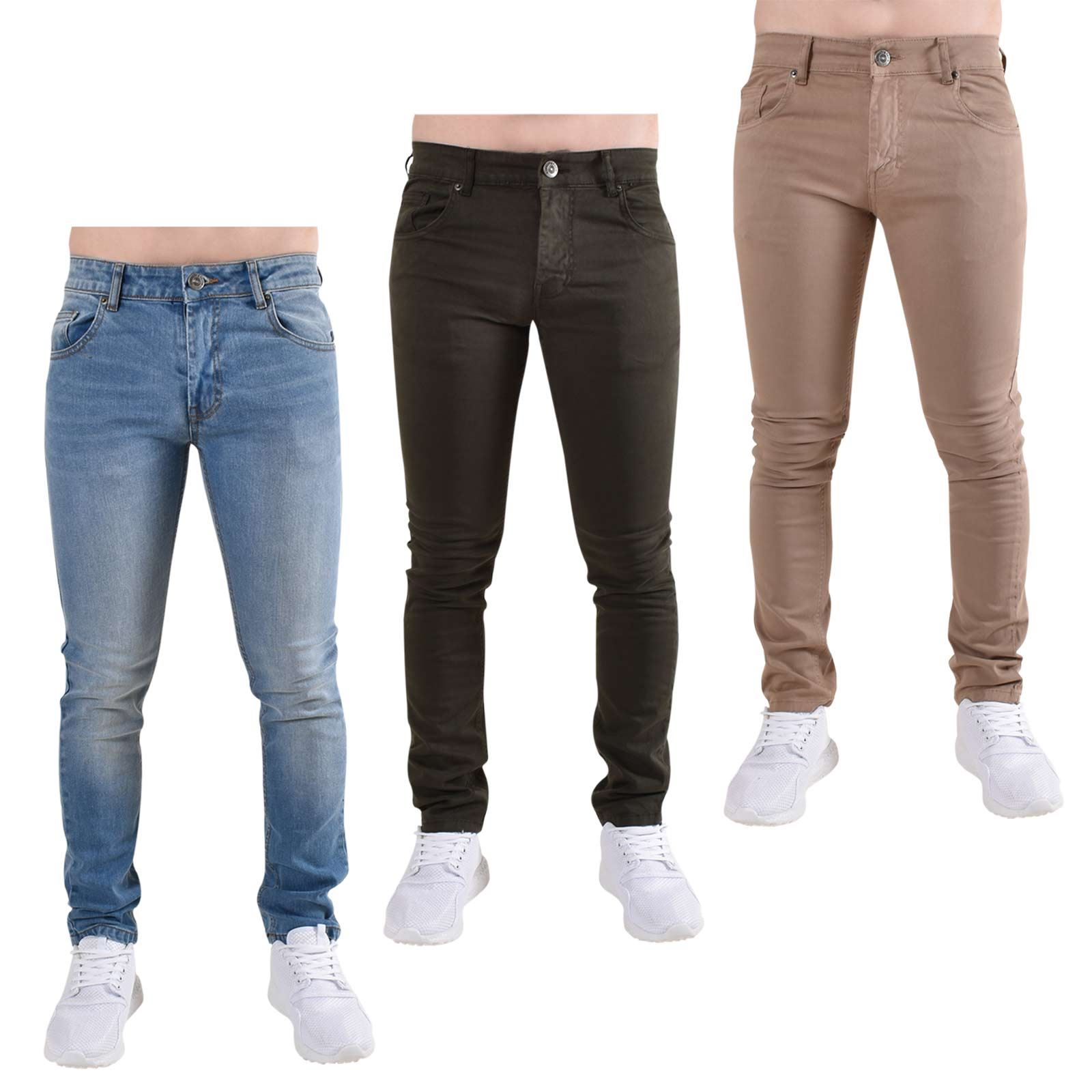 da405e5884 Details about Loyalty and Faith Mens Skinny Jeans Slim Fit Cotton Stretch Denim  Trousers Pants