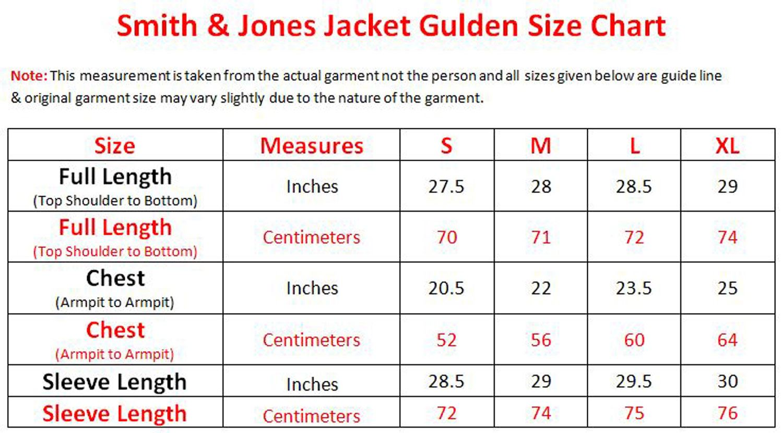 Mens-Smith-amp-Jones-Jacket-Full-Zip-Fleece-Lined-Hooded-Light-Weight-Warm-Coat thumbnail 7