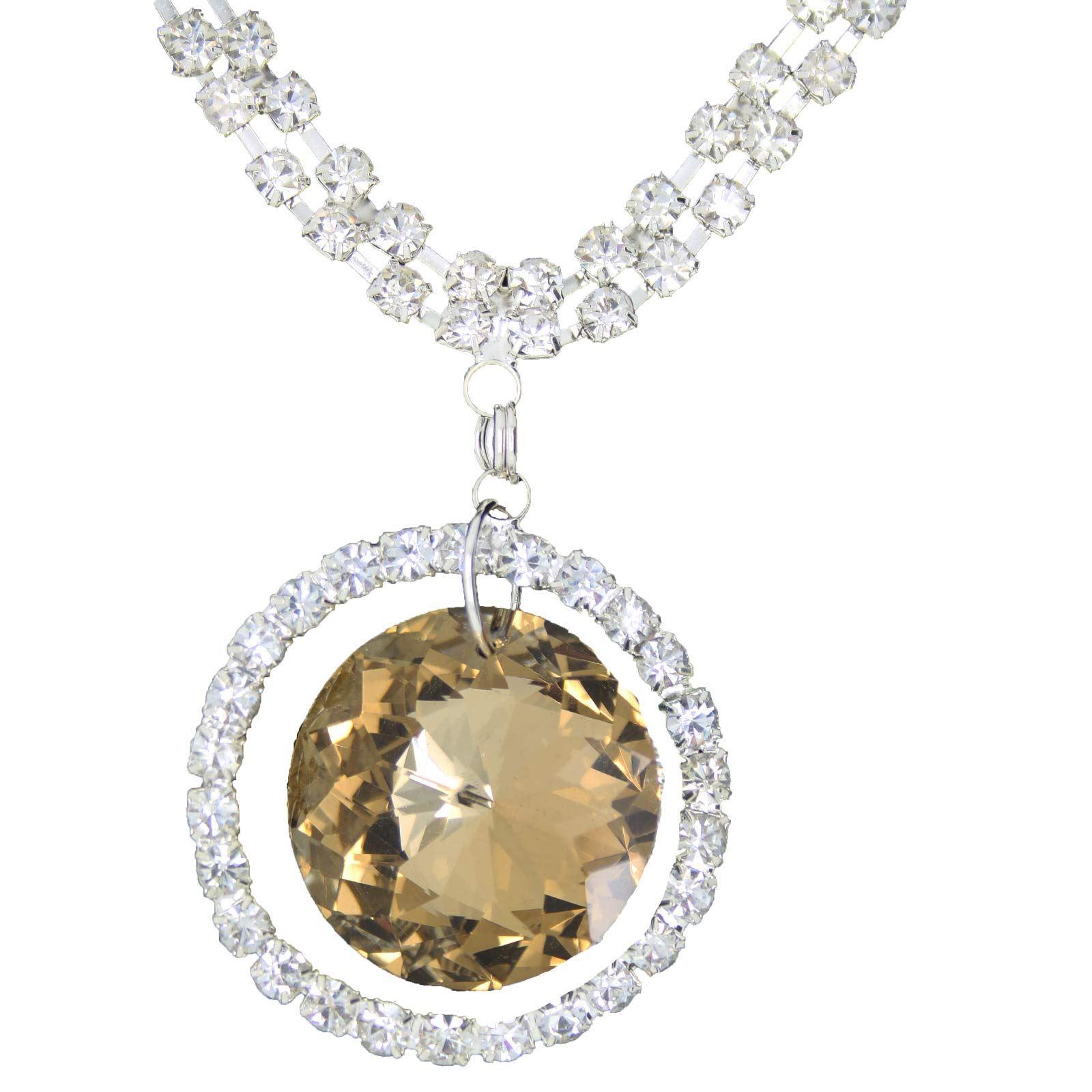 True-Face-Ladies-Women-039-s-Elegant-Earrings-Necklace-Set-Metal-Alloy-Jewellery thumbnail 33