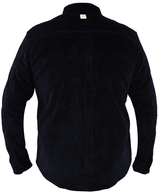 Mens-Corduroy-Cotton-Shirt-Long-Sleeve-Casual-Shirts-Jacksouth-Jacket-Top-S-2XL thumbnail 42