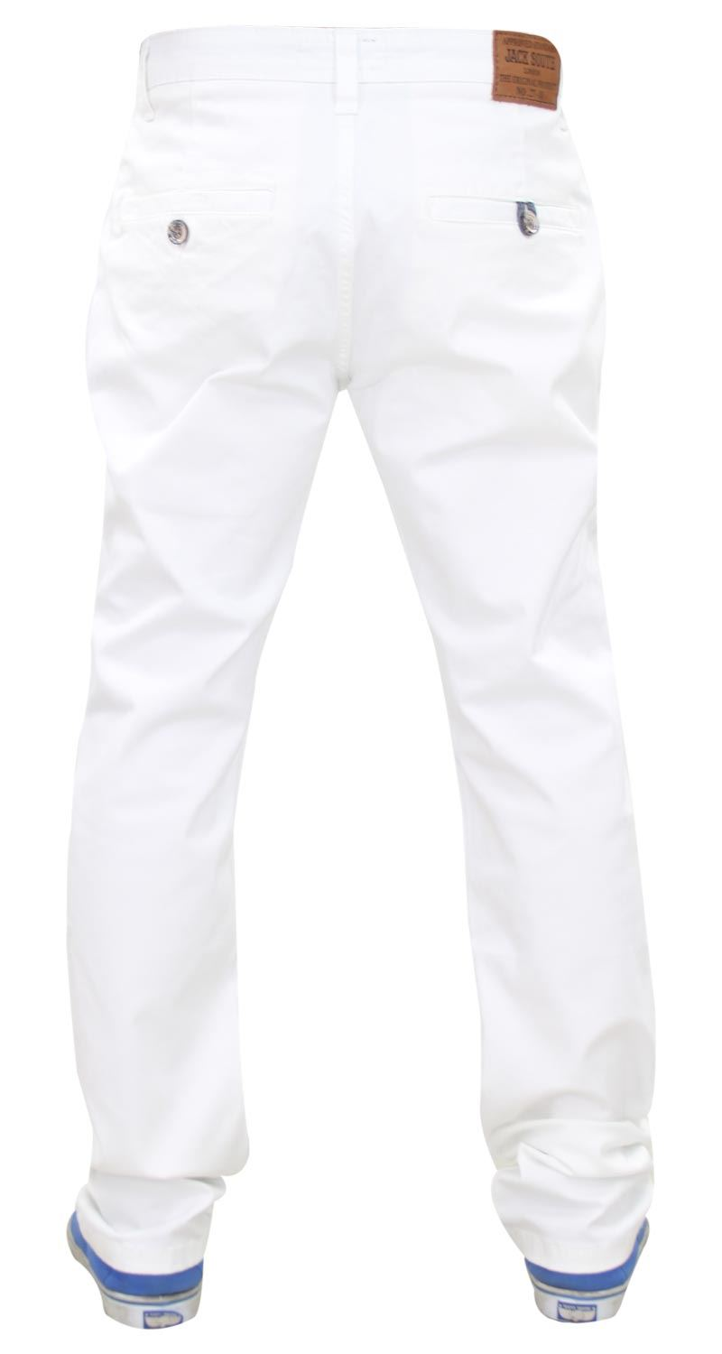 Jacksouth-Mens-Chinos-Trousers-Regular-Fit-Stretch-Cotton-Rich-Twill-Jeans-Pants thumbnail 29