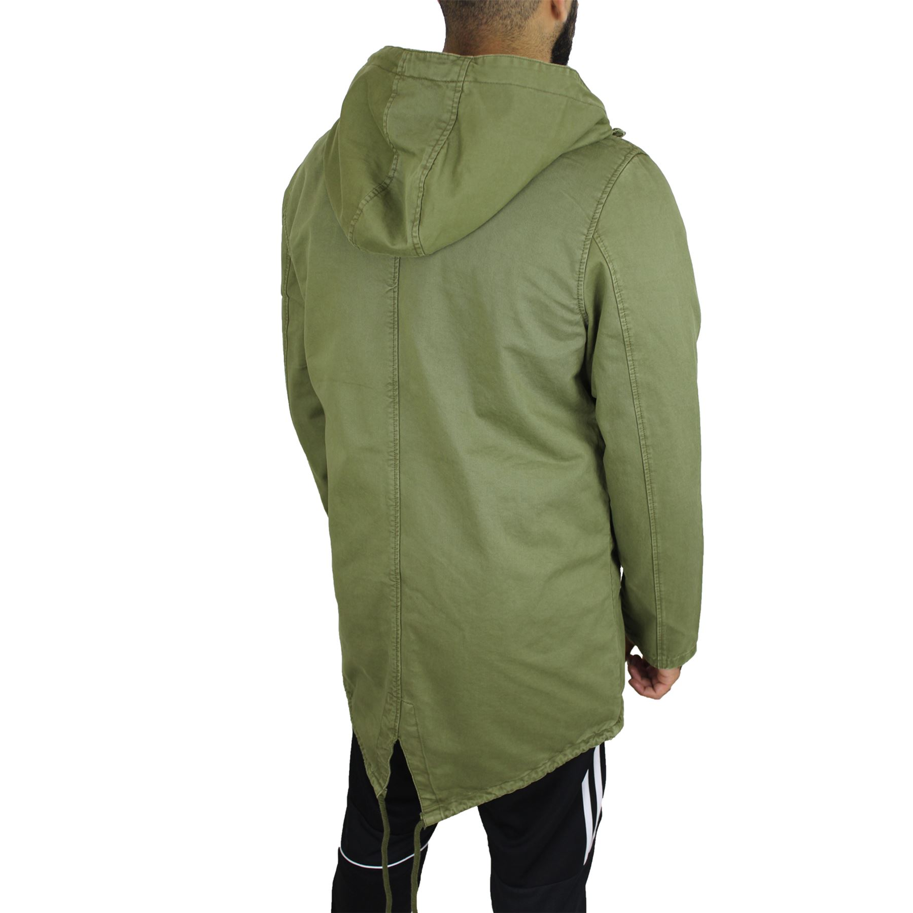 Mens Mod Parka Coats