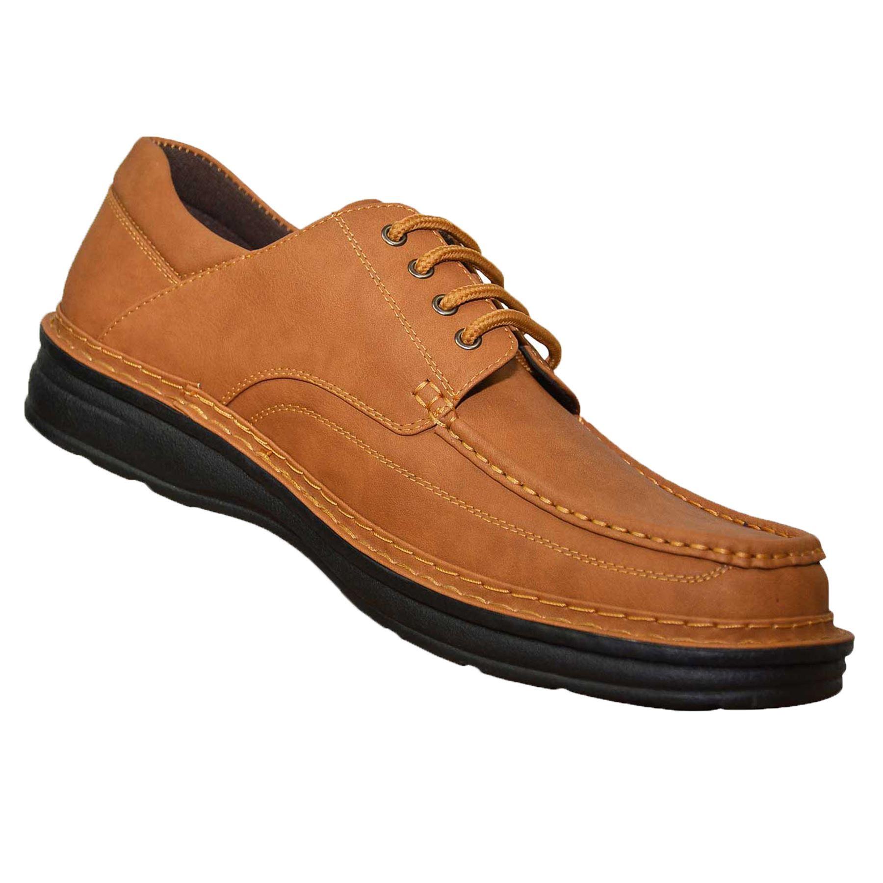 Détails sur Mens duc grande taille Lace Up classique Deck Boat Shoes Boots UK 10 11 12 13 14 15 afficher le titre d'origine