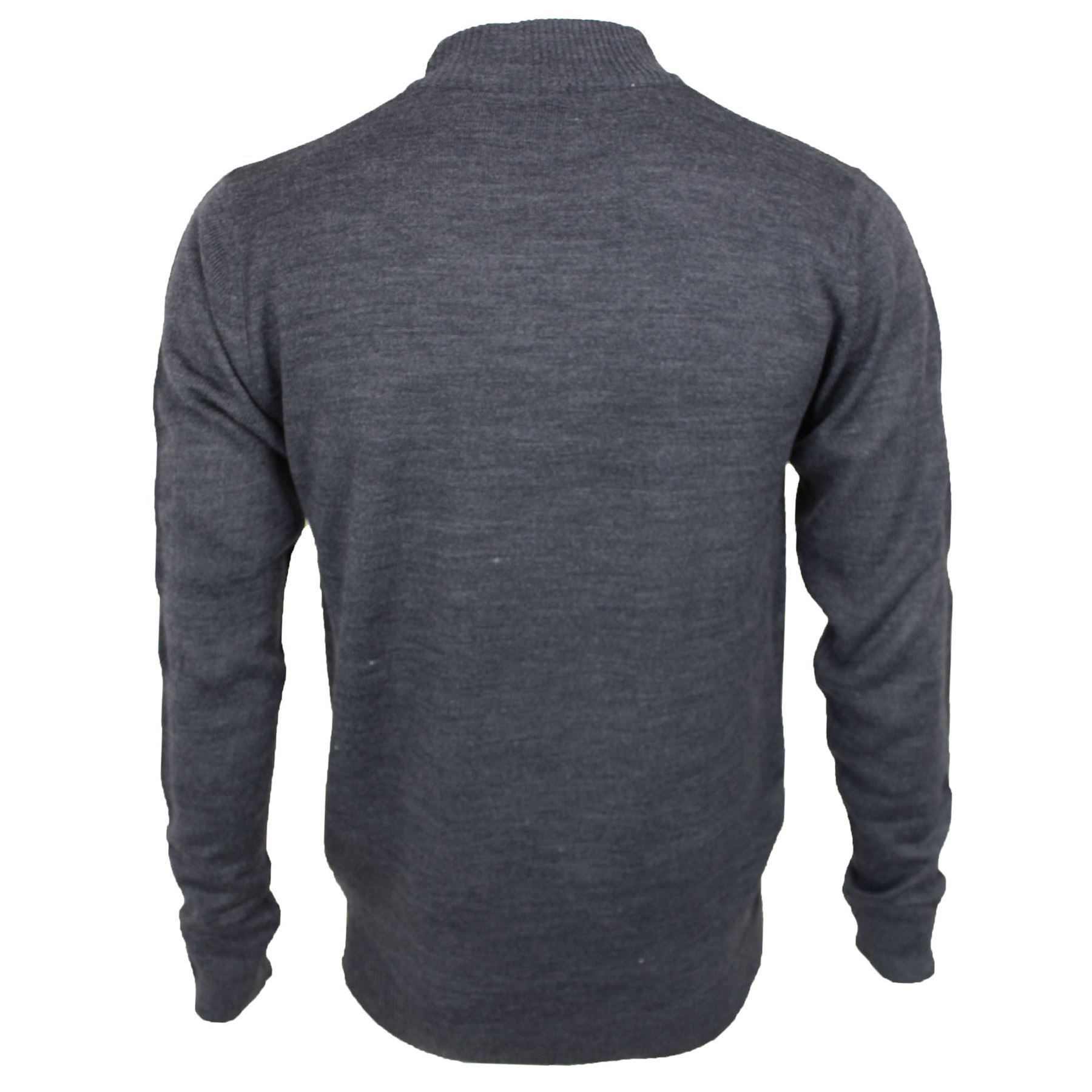 Mens Soul Star Thin Knit Turtle High Neck Long Sleeve Knitted Jumper Sweater Top