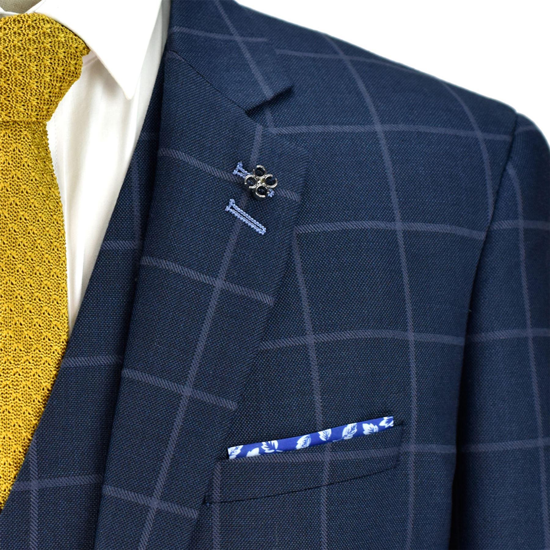 Blazer-Para-Hombre-Cavani-Macy-Boda-Chaleco-Pantalones-3-piezas-traje-se-vende-por-separado miniatura 3
