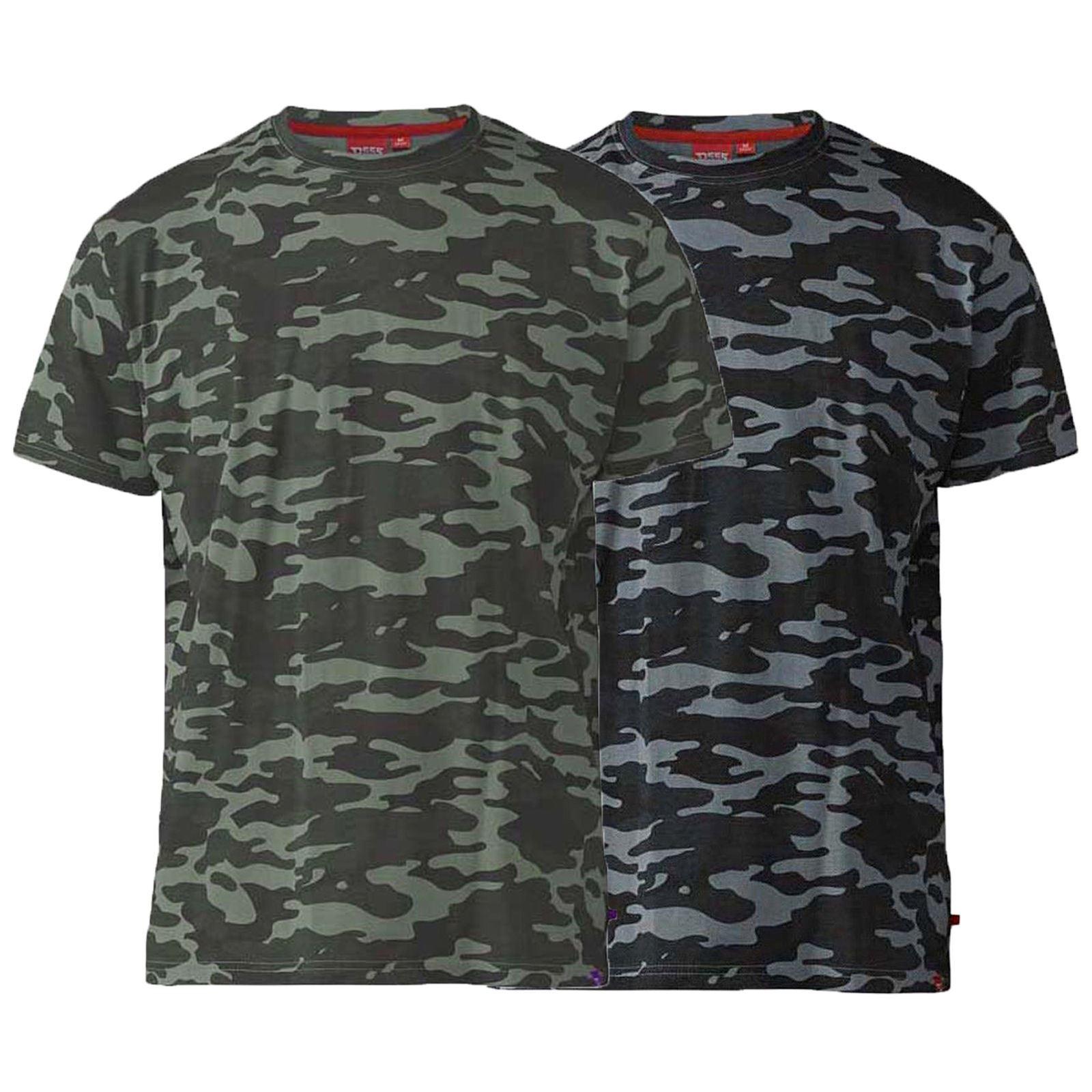 Mens Duke Big Size Short Sleeve Summer Hawaiian Graphic Print T-Shirt 3XL 4XL
