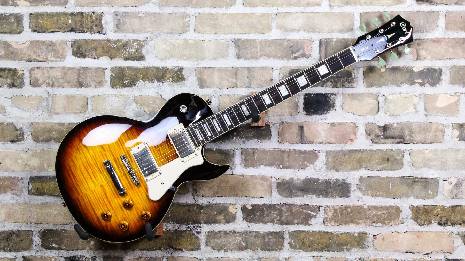 cort cr250 electric guitar cherry red sunburst cr 250 ts250 ebay. Black Bedroom Furniture Sets. Home Design Ideas