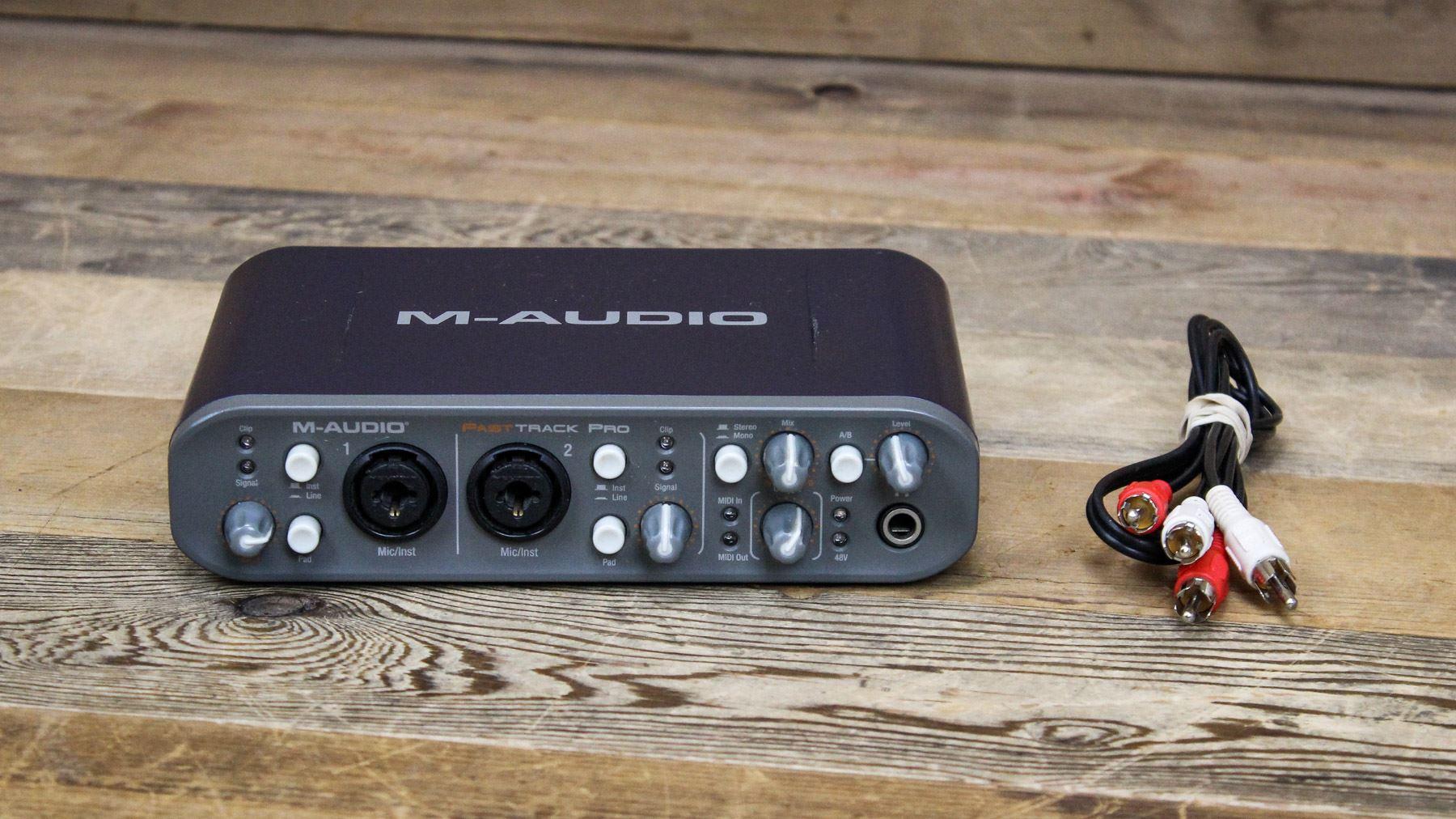 Asio driver fast m-audio track pro