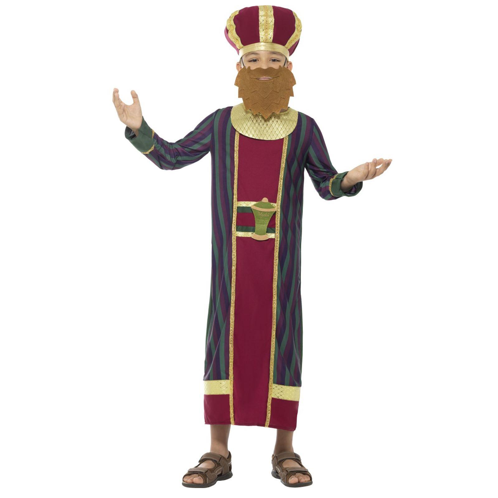291f1df781b9 Bambini Ragazzi 3 Saggi Kings Natale Natività Recita Scolastica ...