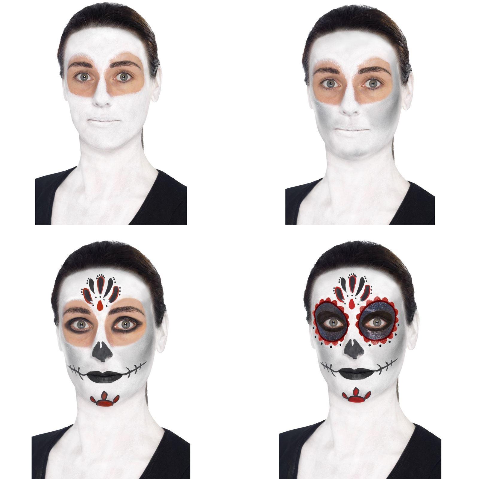Giorno dei morti Costume Halloween Donna Scheletro SENORITA bambini UK