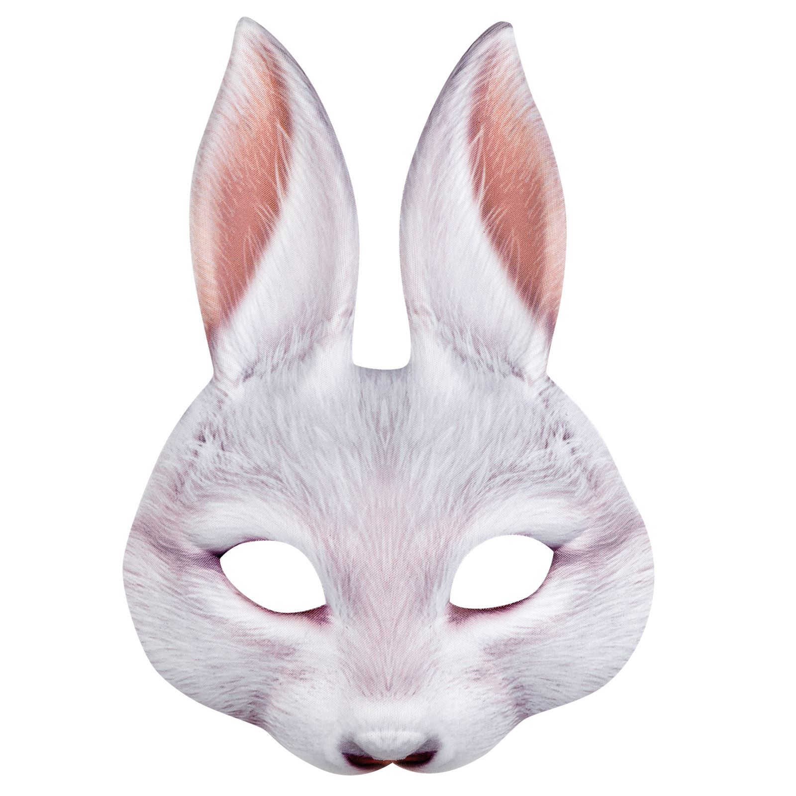 White Rabbit Latex Mask Halloween Costume Accessory Easter Bunny Peter Adult New