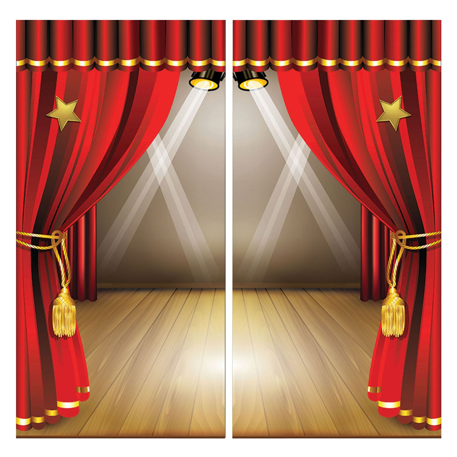 5ft big theatre stage scene setter movie oscar hollywood for Auditorium stage decoration