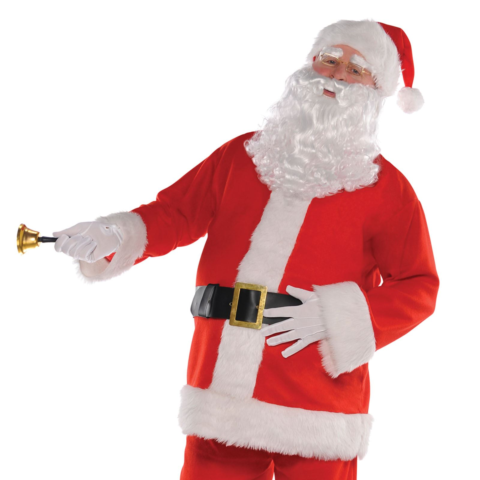 Men's Classic Regal Santa Claus Father Christmas Suit ...