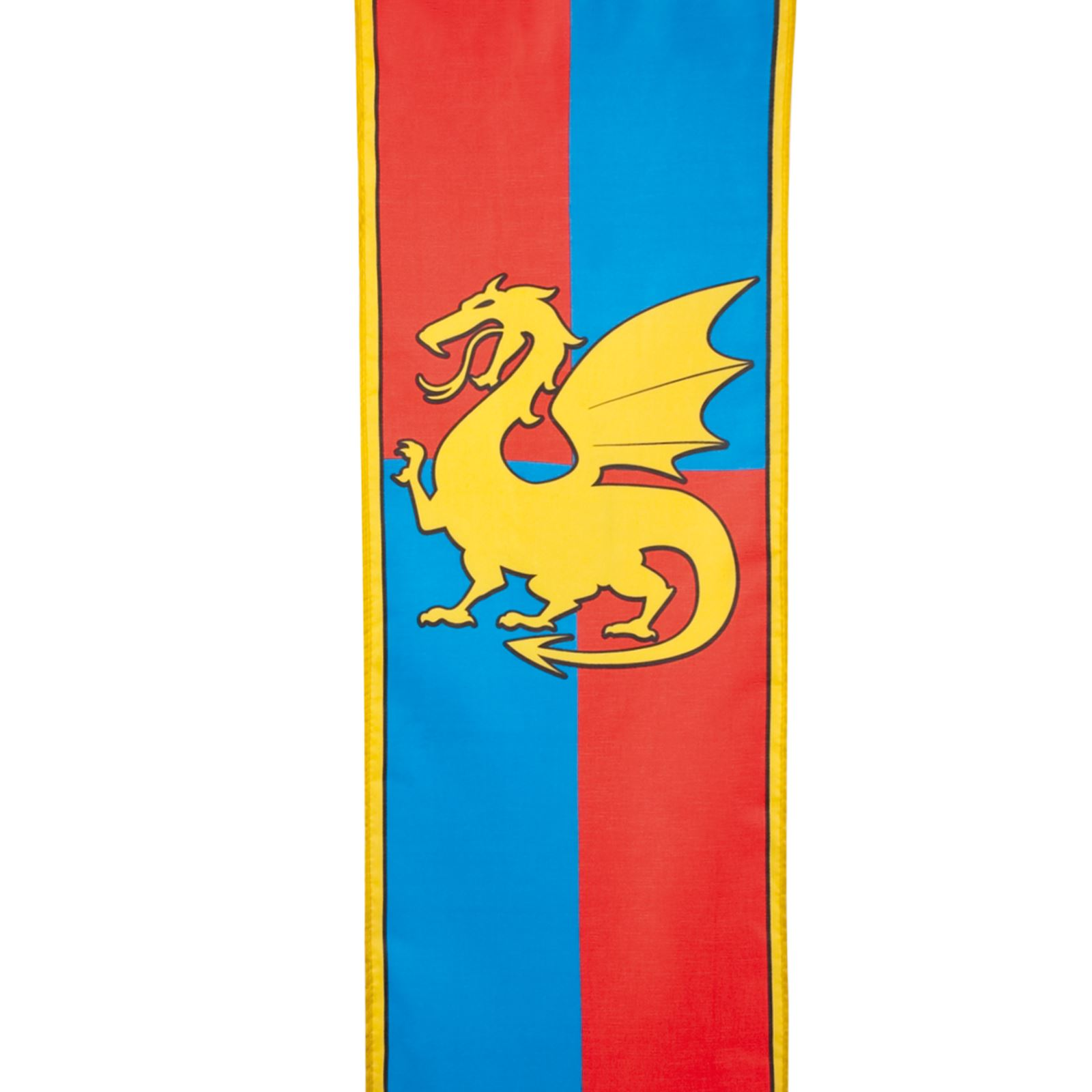 Medieval Knights and Dragons: Banner Medieval Dragon Party ...