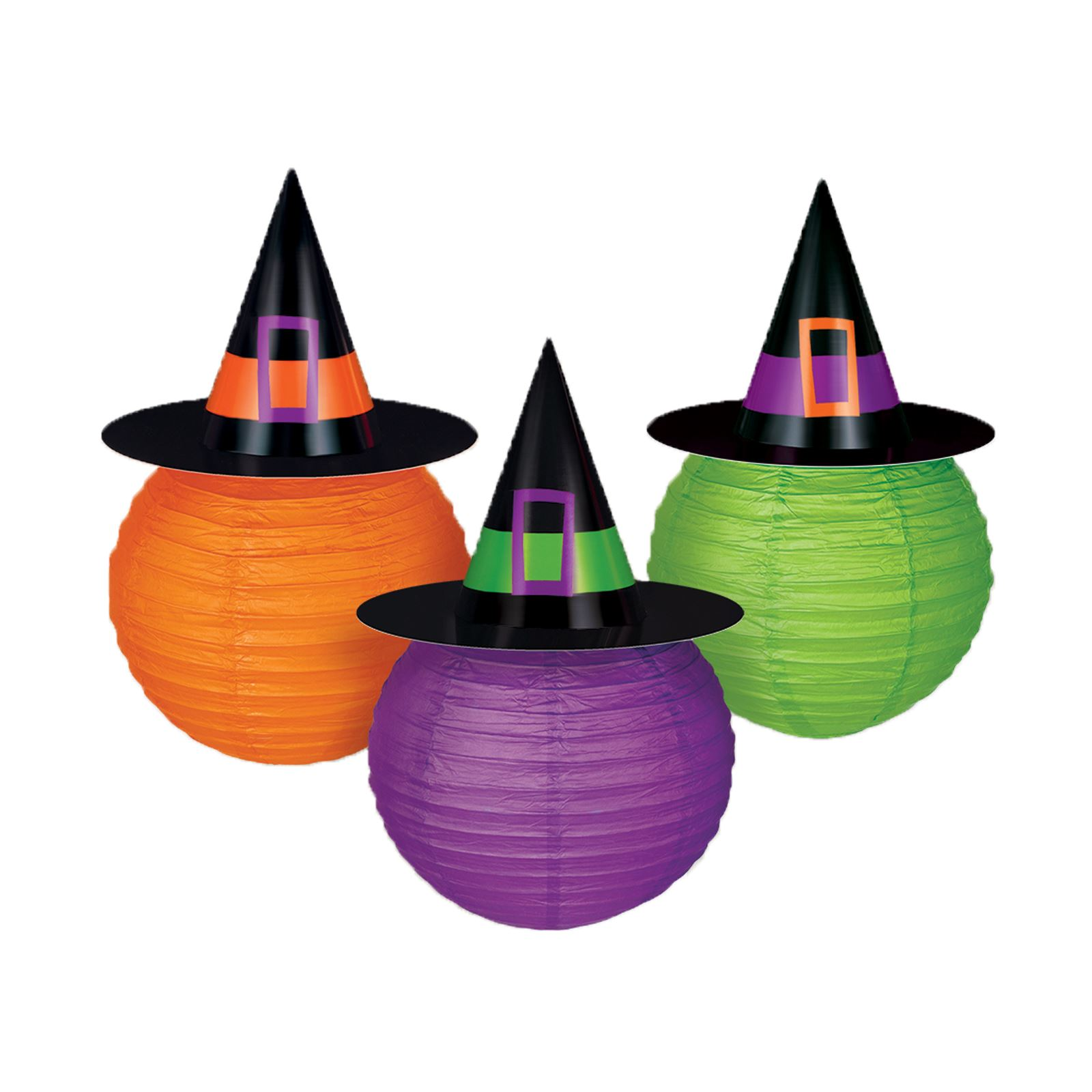 Witches Hat Lanterns Party Decoration