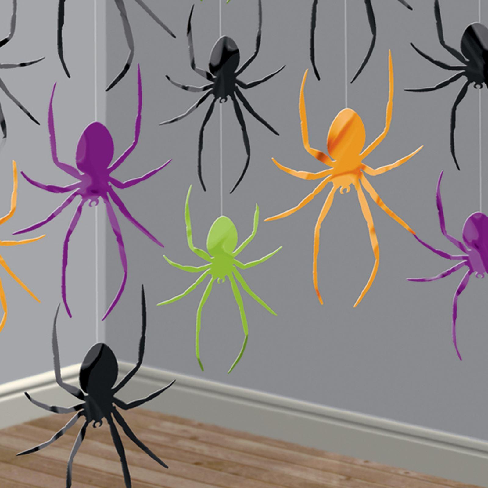 Halloween Spirale Dekorationen 6er Strudel Spinne Hexe Ghost hängende Deko Heiß