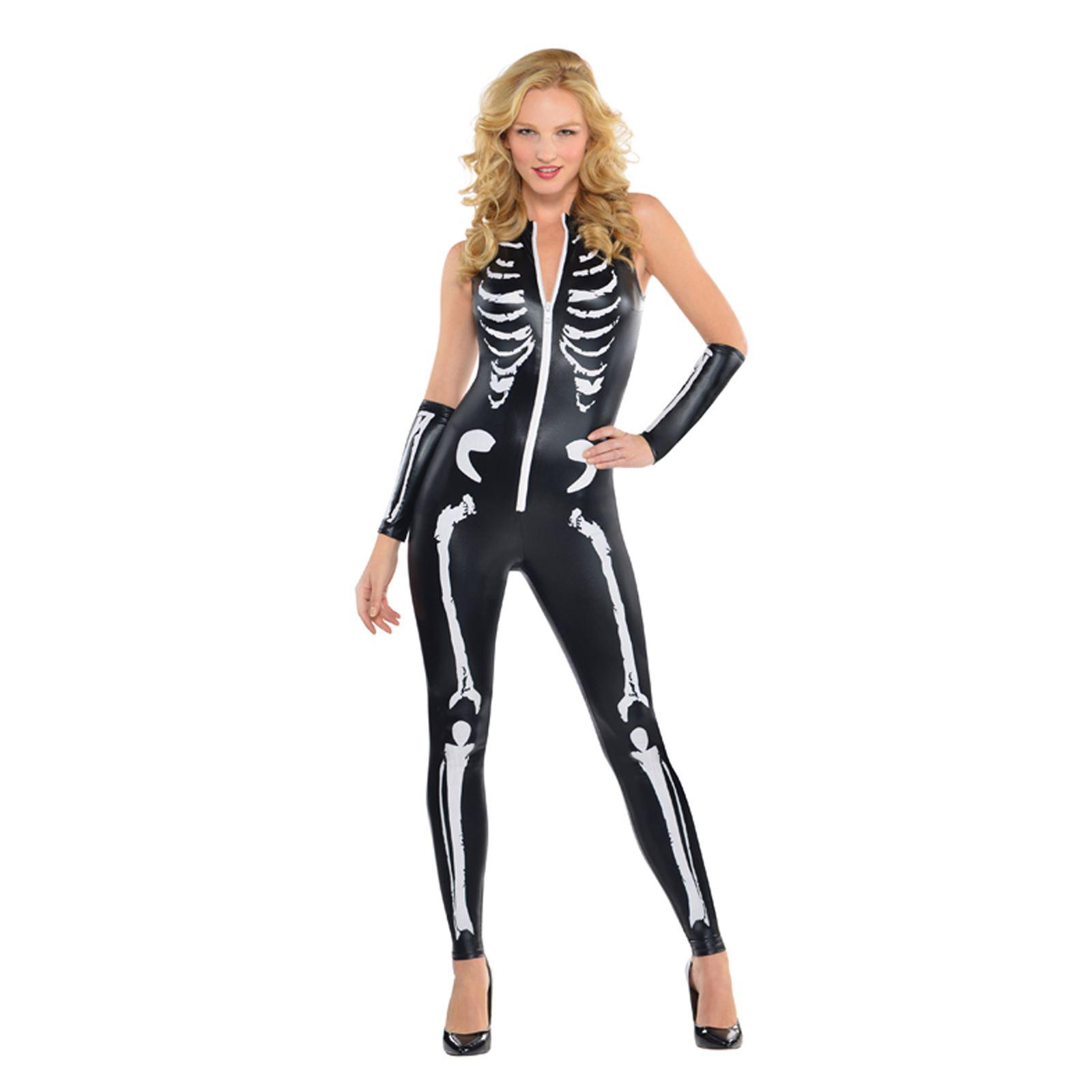 Sexy skeleton jumpsuit