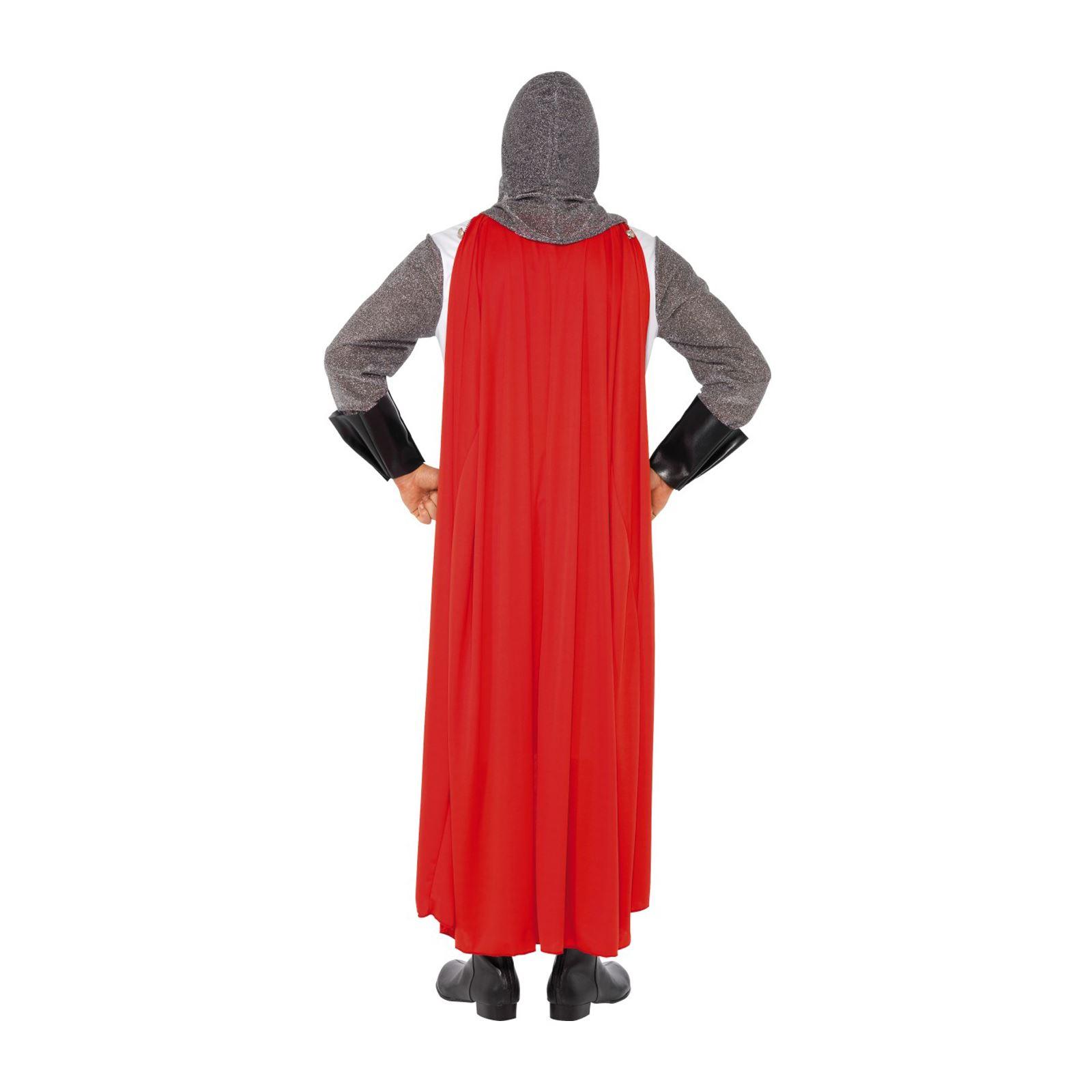 Homme deluxe adulte chevalier st george angleterre croisé médiéval costume déguisement