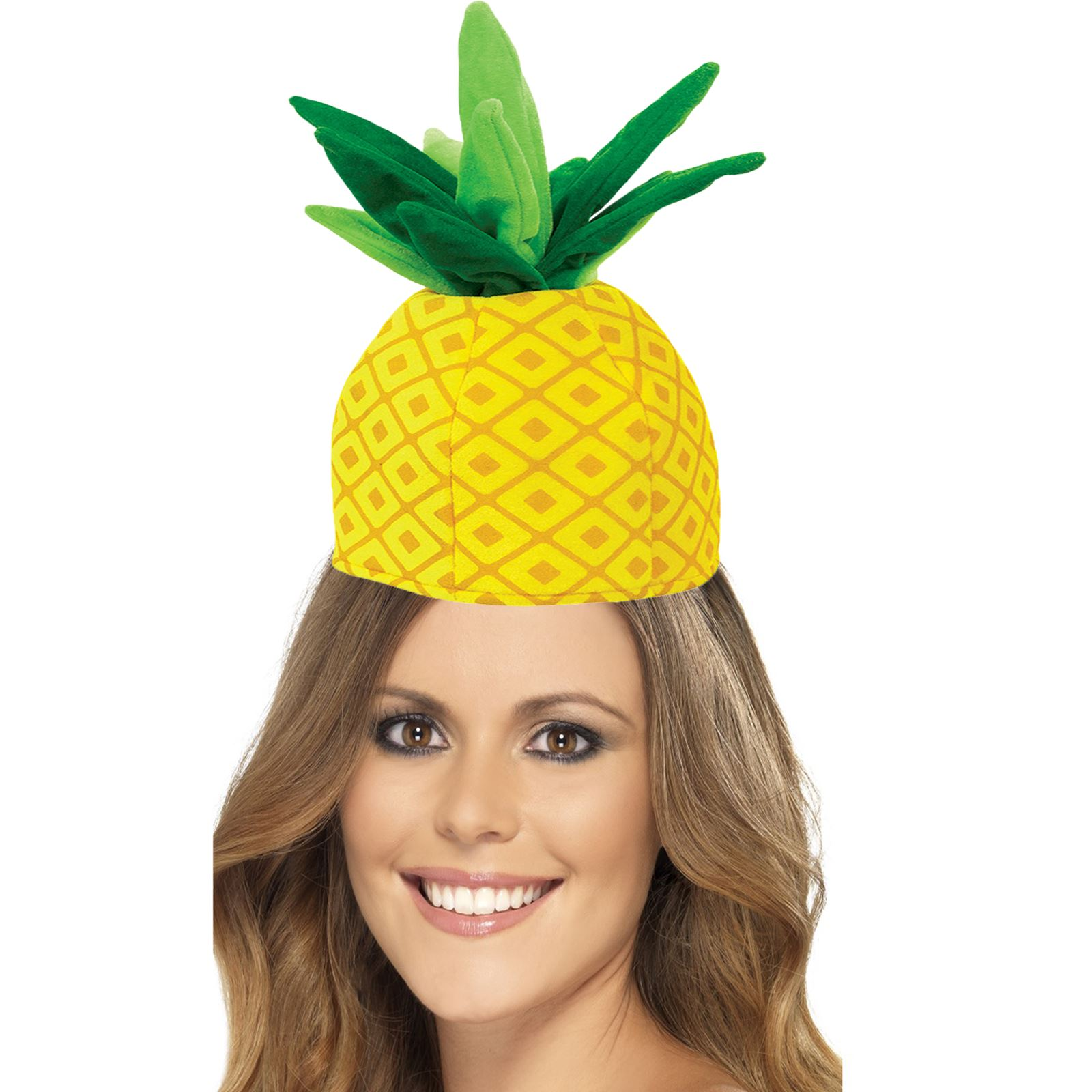 adults novelty tropical fruit pineapple hat summer festival beach party hawaiian 13051812546 ebay. Black Bedroom Furniture Sets. Home Design Ideas