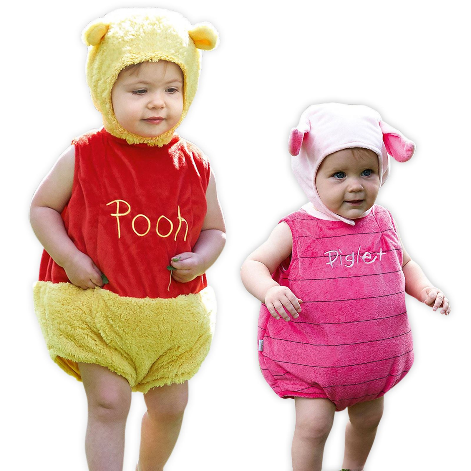 15f403dc9668 Official Disney Winnie the Pooh Bear or Piglet Tabard with Ear Hat ...
