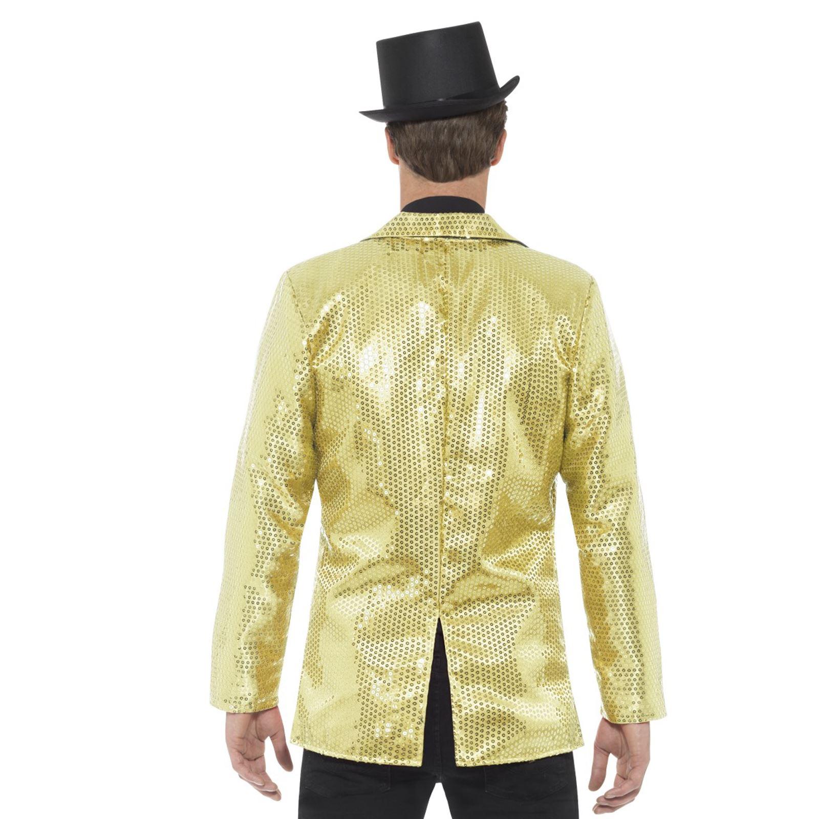 Adultes Jazz Dorés Sequins Hommes Ebay Showman Veste Loyal Monsieur wqYwPrS
