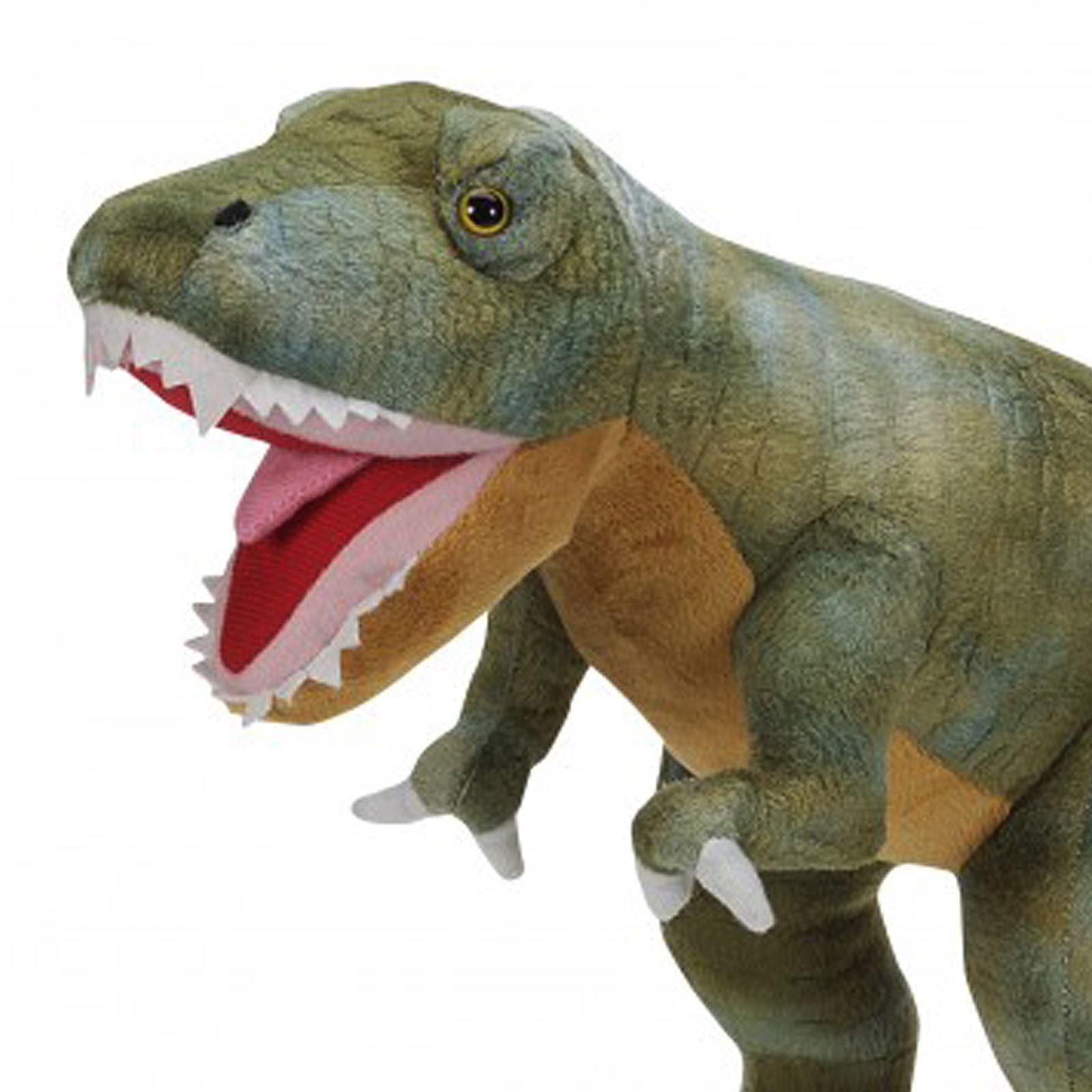 Large Soft Plush Dinosaur Toy Kids Cuddly Stuffed Animal T-Rex Tyrannosaurus Rex  Ebay