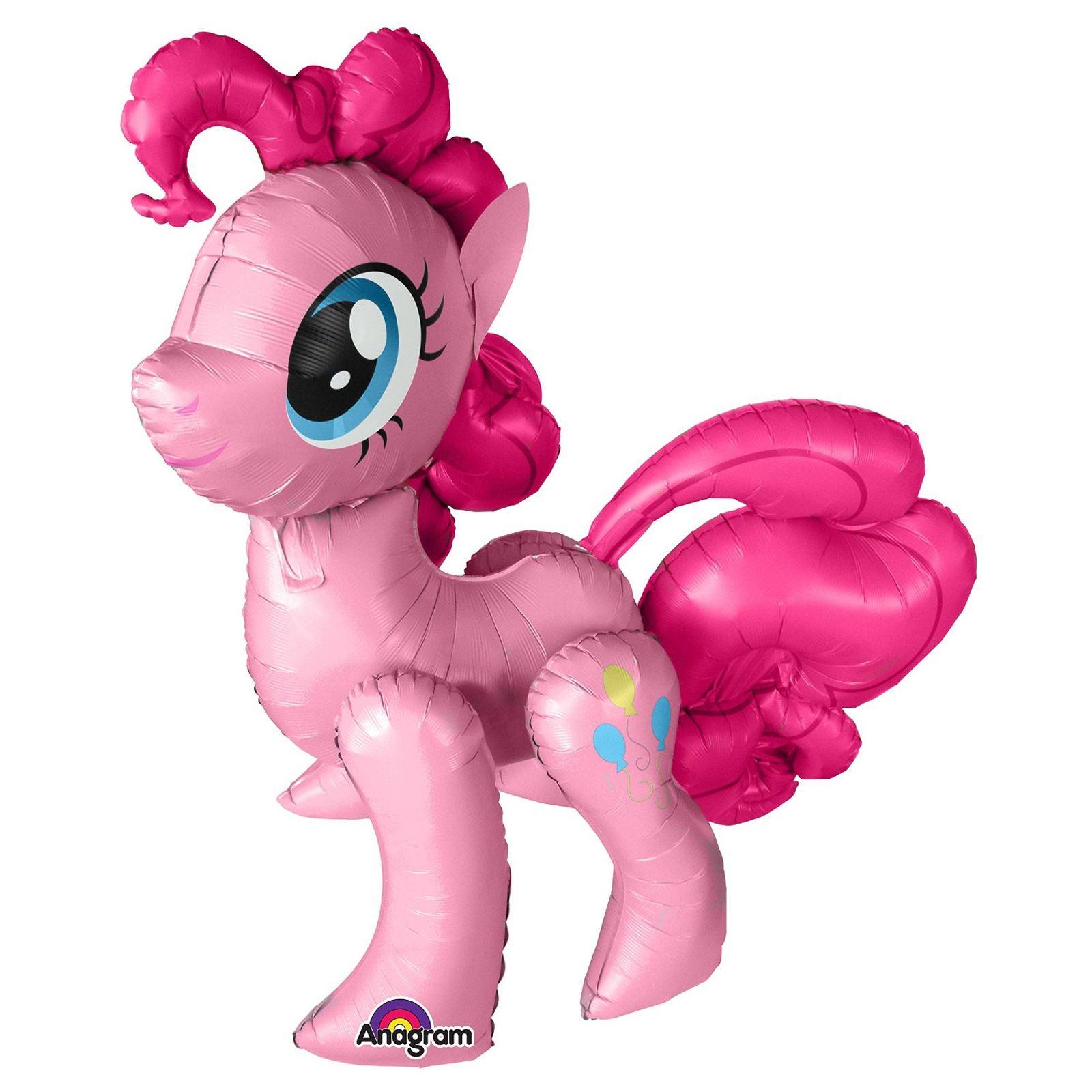 "9 x12/"" LATEX My Little Pony Pinkie Pie Party Supershape Airwalker Foil Balloon"