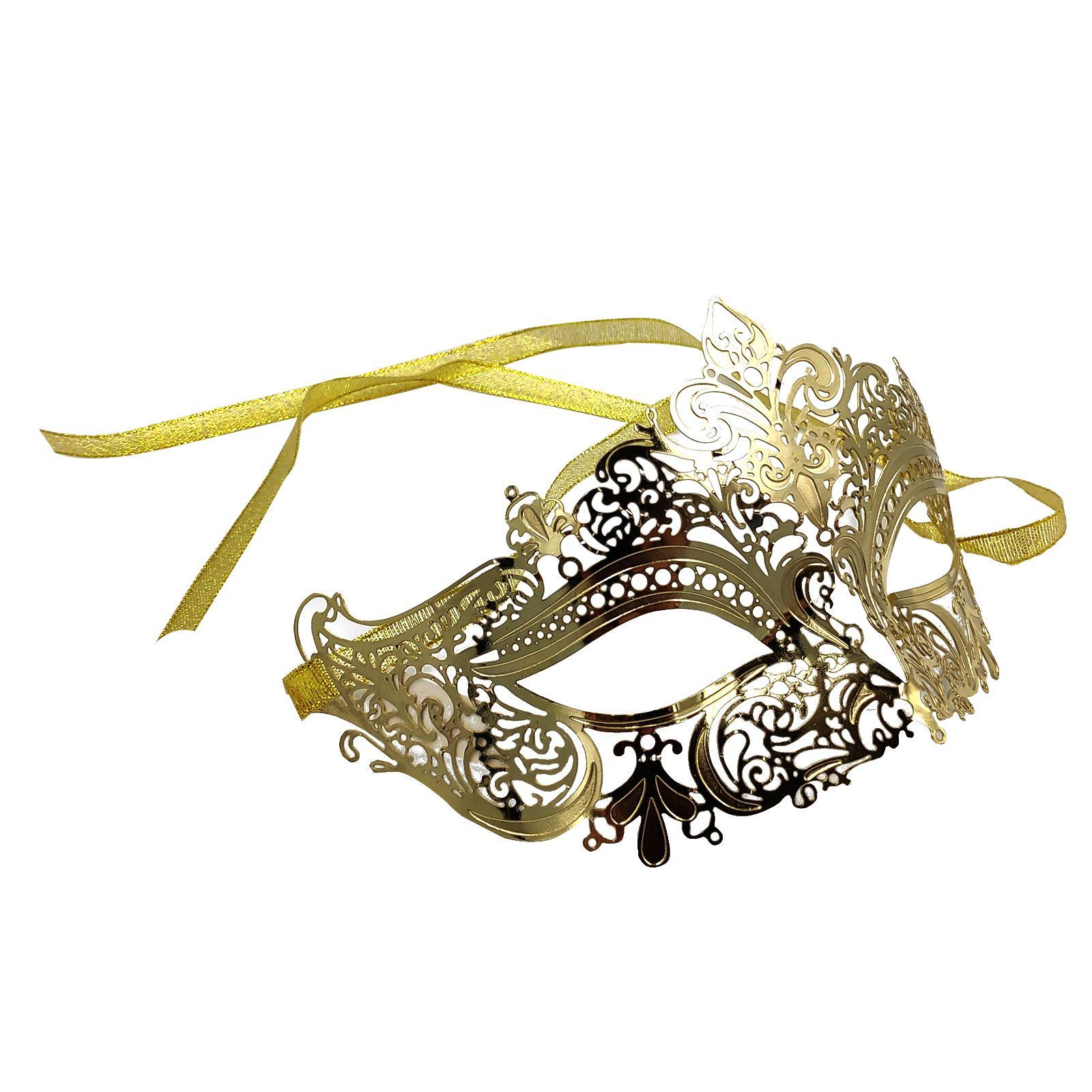 His /& Her Black Batman /& Filigree Metal Eye Mask Halloween carnival Party Mask