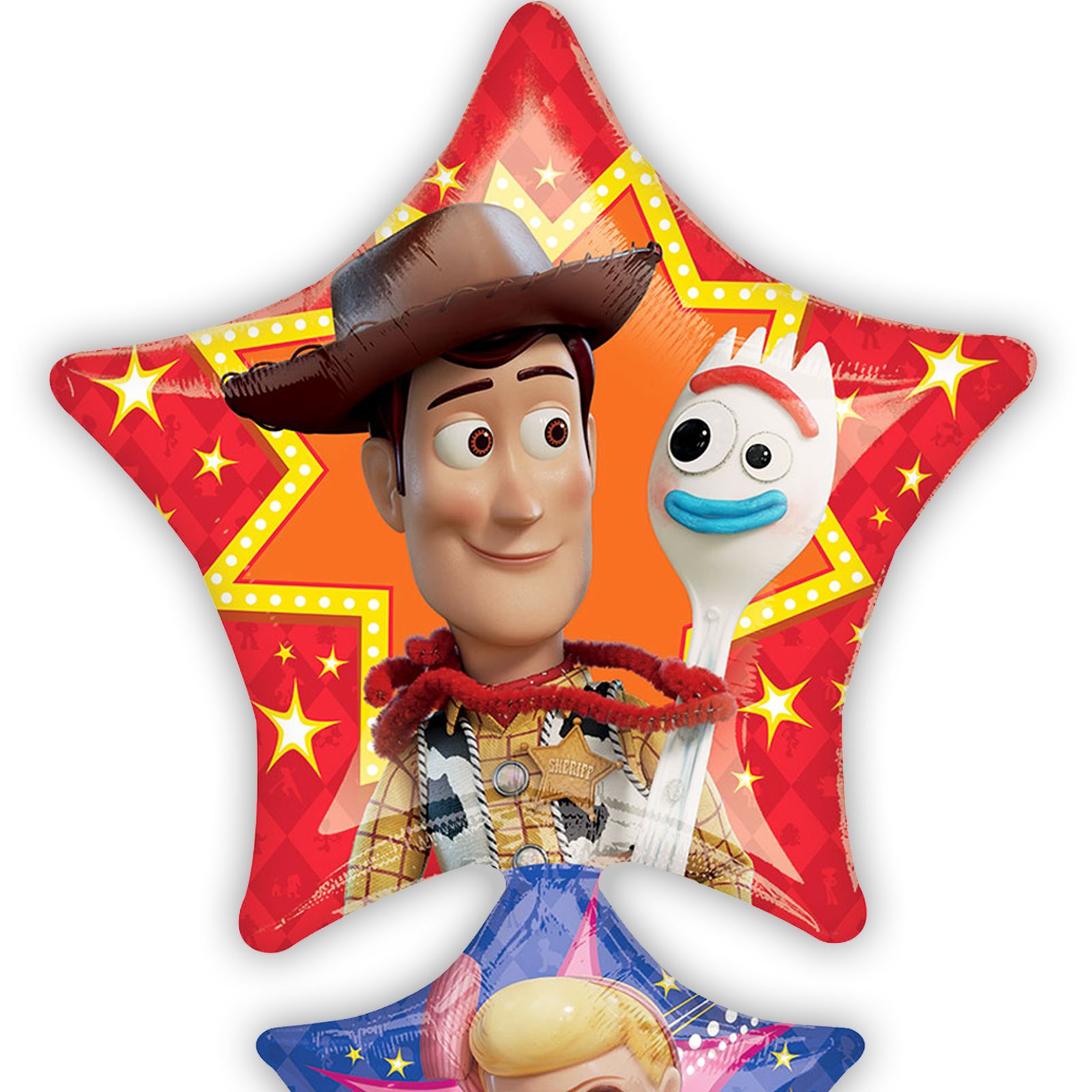 TOY STORY 4 Happy Birthday party supplies dessert cake PAPER PLATES 8pcs FORKY
