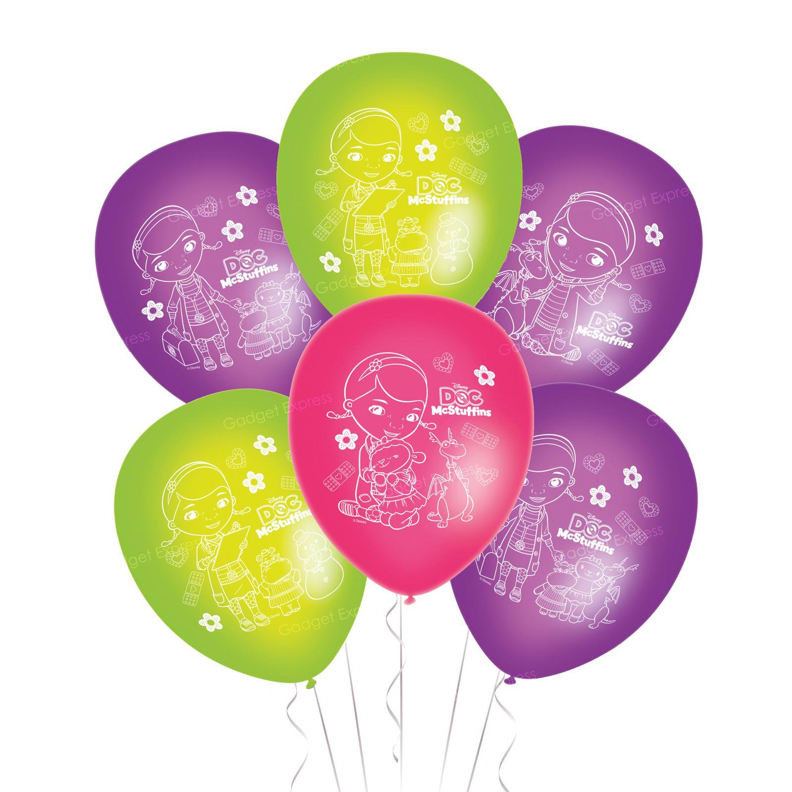 Pack of 40 Doc McStuffins 28 cm Latex Balloons Disney Party balloon