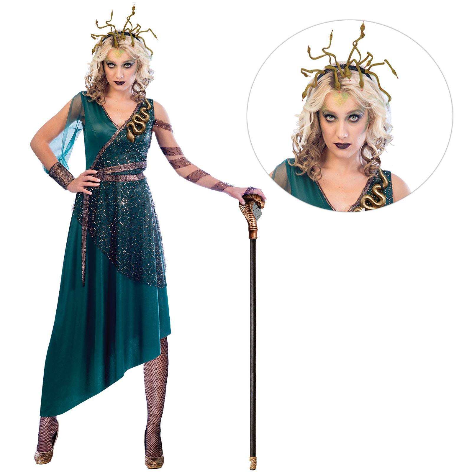 Ladies Fancy GRECO Serpente Fascia Per Capelli Da Donna Halloween Party Supplies Accessorio