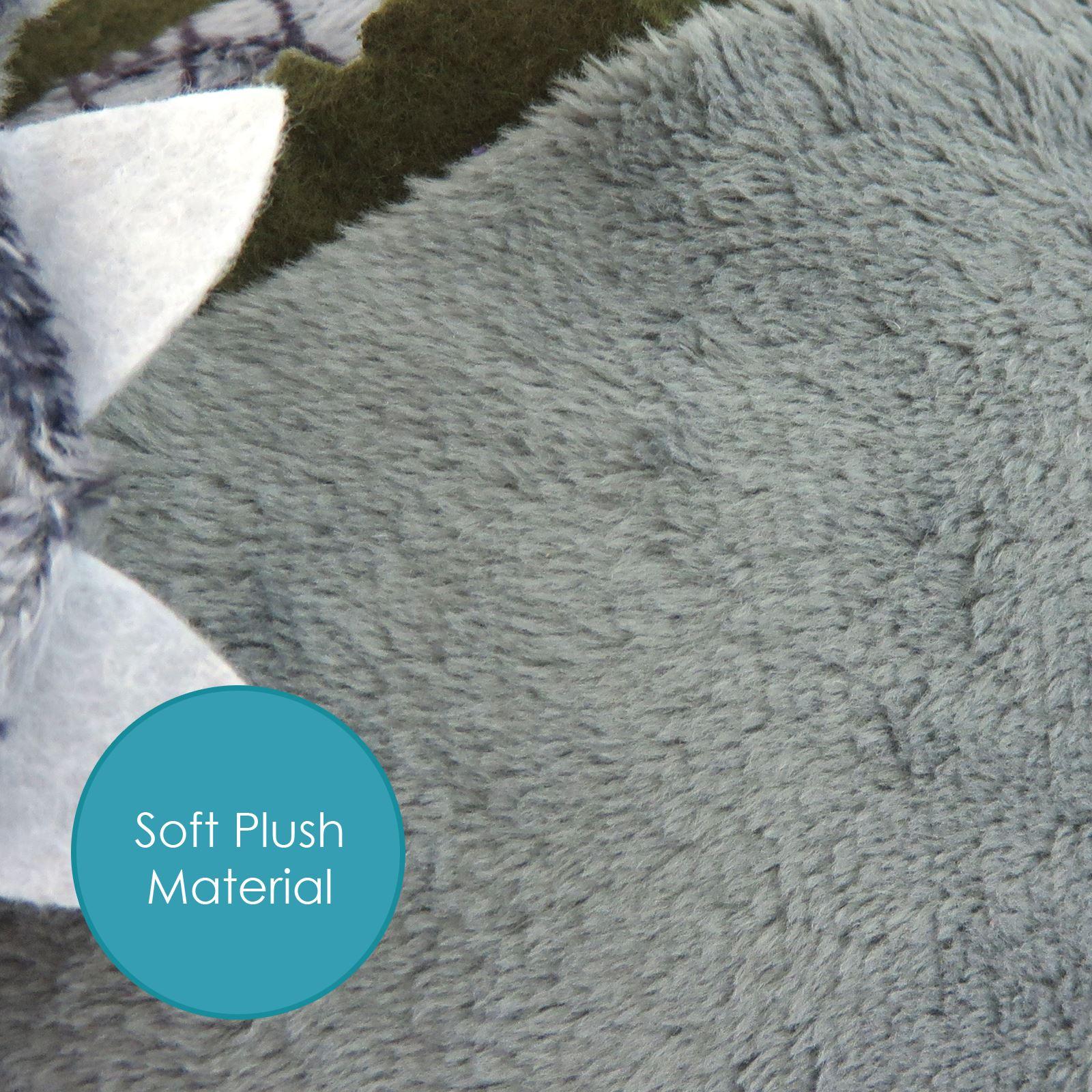 New Plush Triceratops Dinosaur Cuddly Kids Soft Toy Stuffed Animal Birthday Gift  Ebay