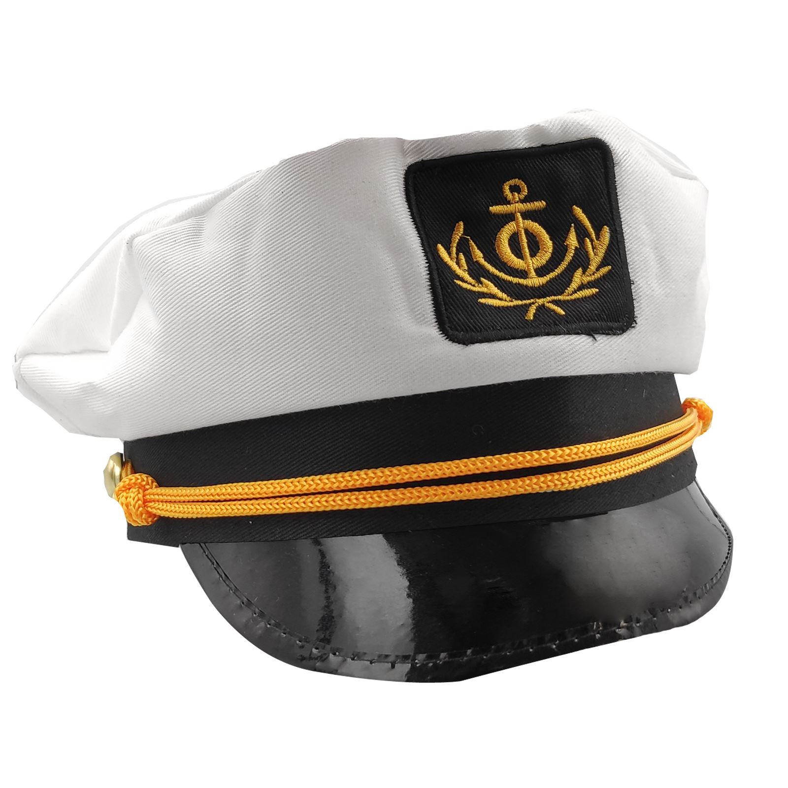 new arrival cheap for discount closer at Adults Mens Ladies Sailor Skipper Ship Captain Hat Navy Fancy ...