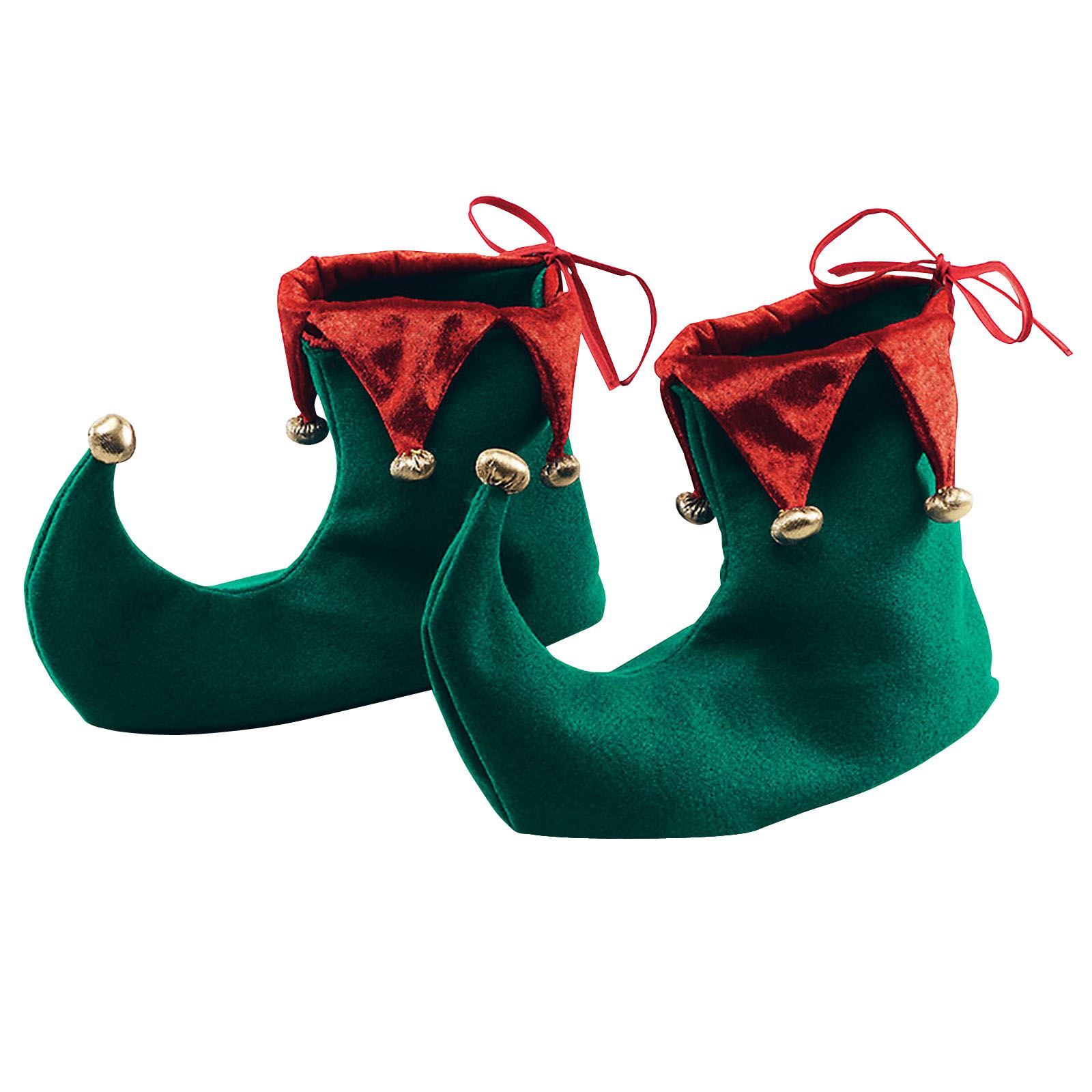 Black And Green Shoes Bells