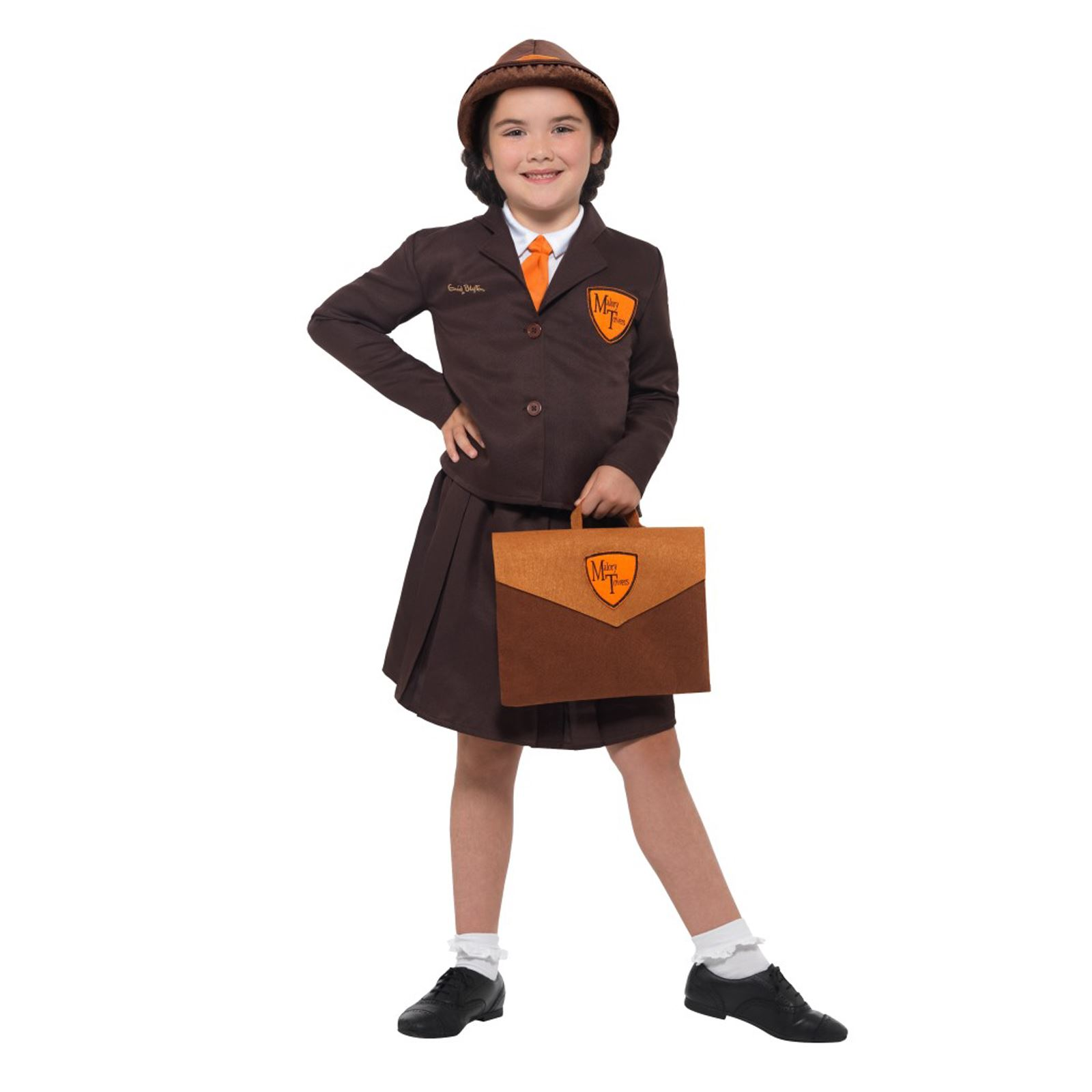 Malory Towers Girls Fancy Dress School Uniform Book day Kids Childrens Costume