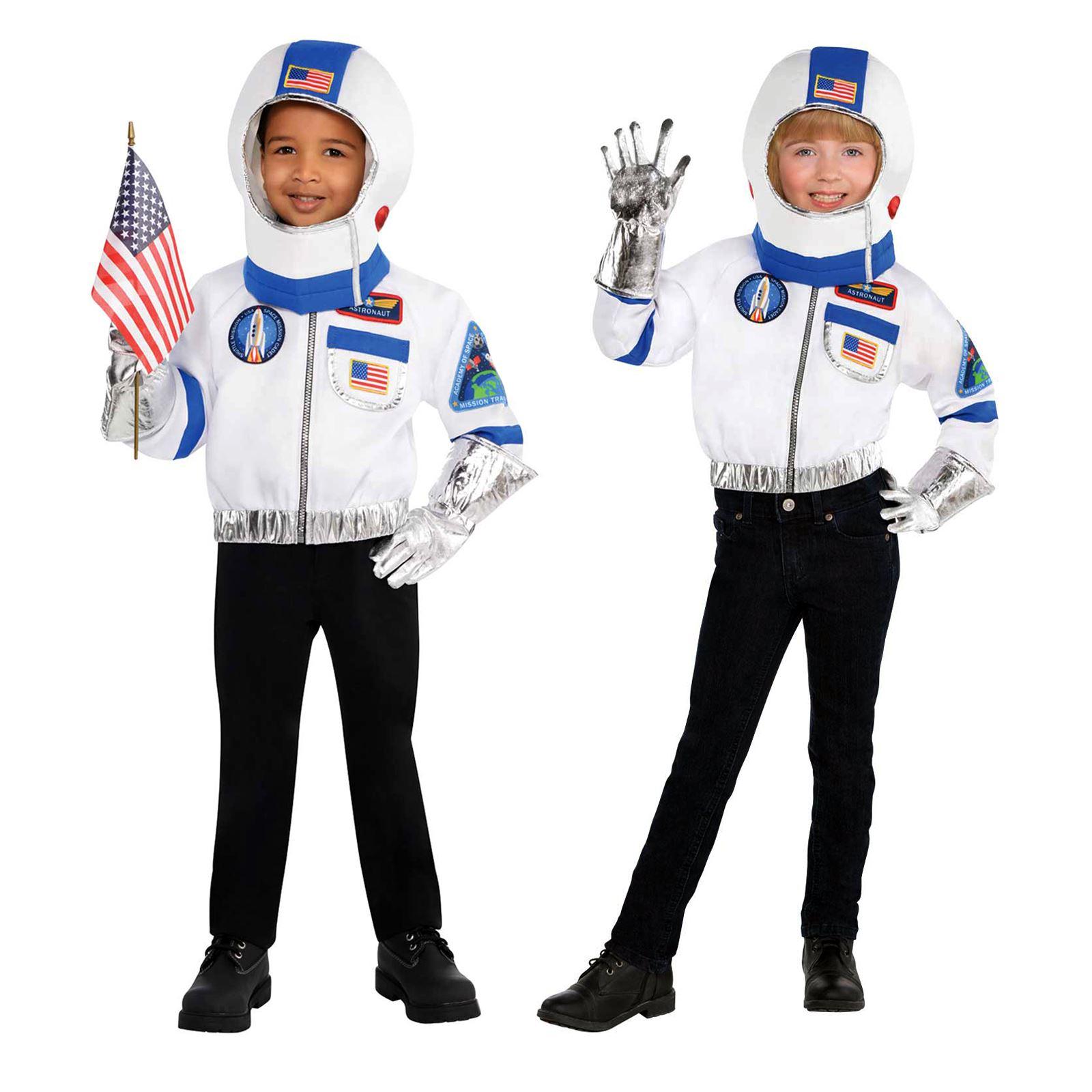 Kinder Uni Astronaut Kostümzubehör Kit