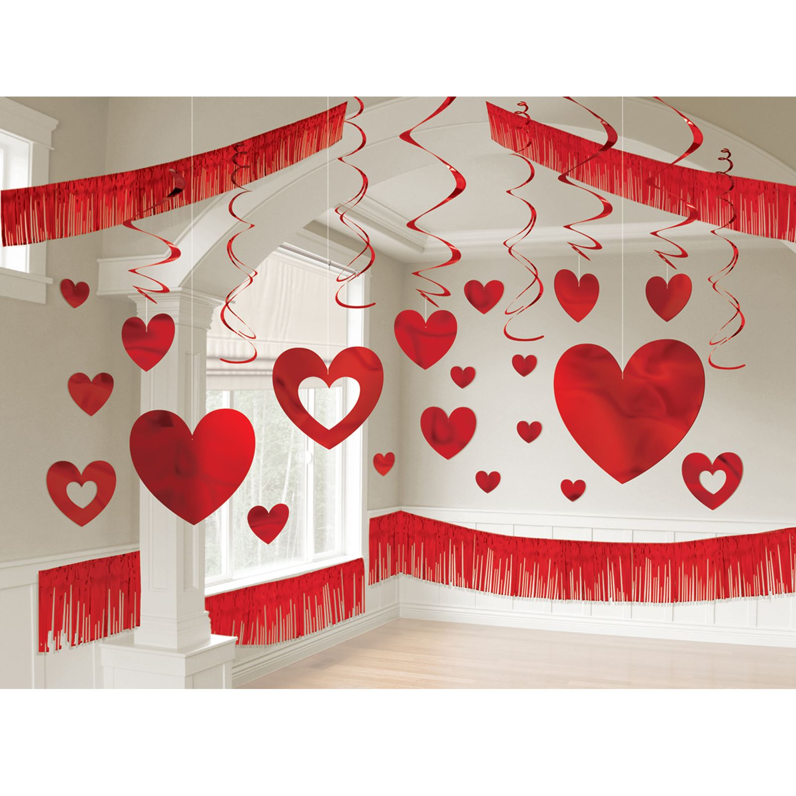 Perfect Valentineu0027s Day Foil Giant Room Kit