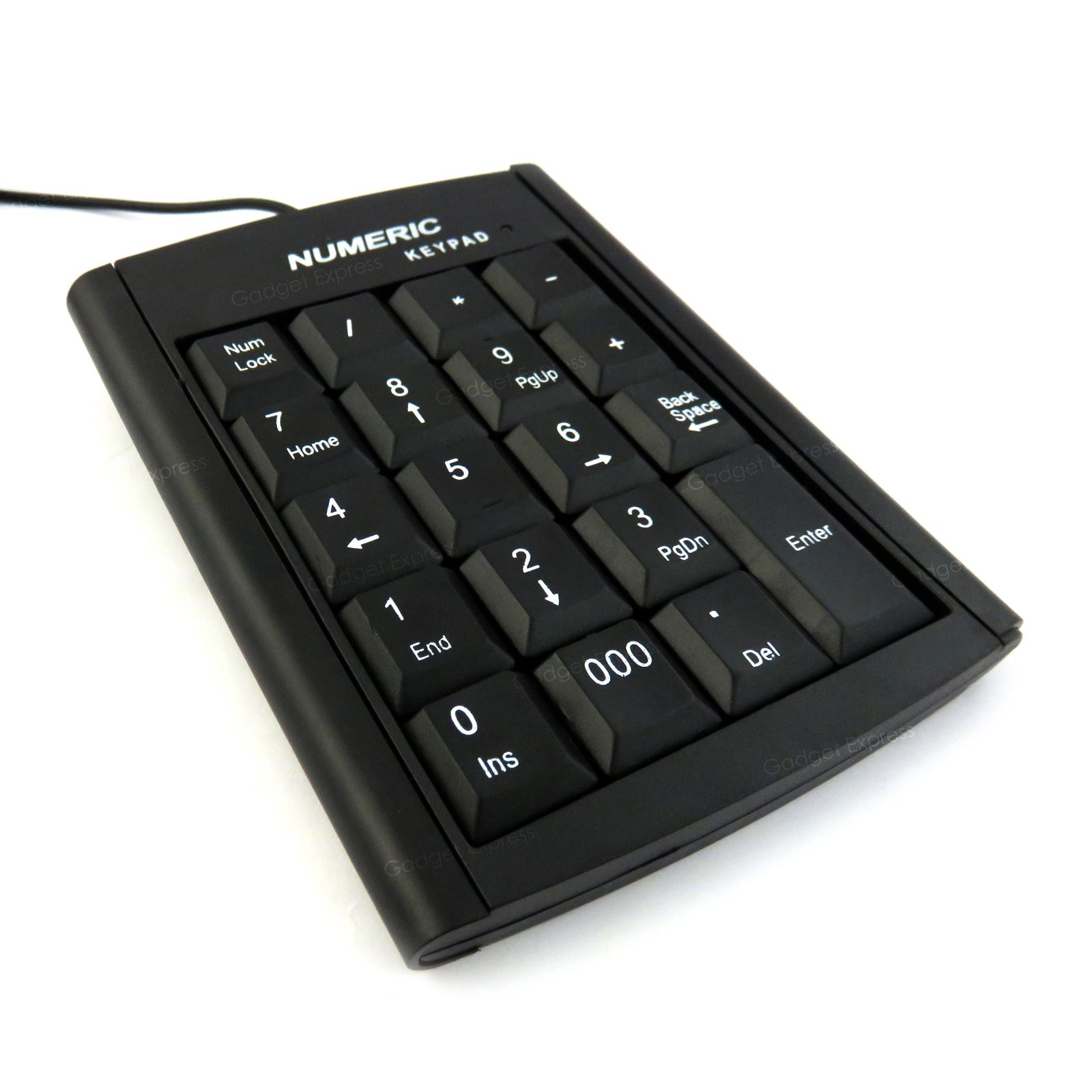 Numeric Keypad Number 19 Keys Pad Keyboard Accounting USB ...