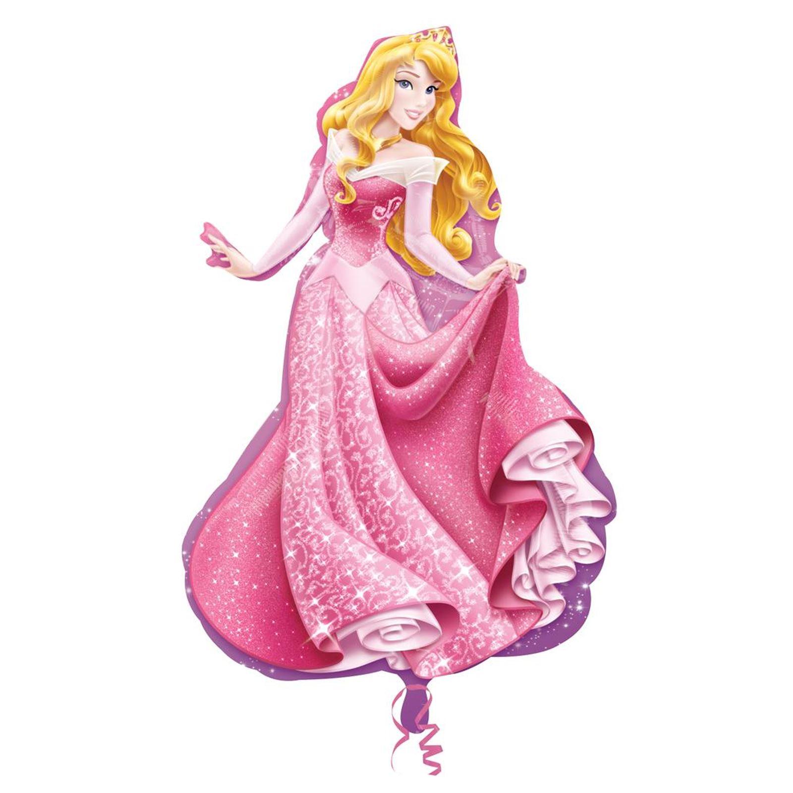Officiel-disney-princesse-plat-ballon-geant-cadeau-filles-fete-d-039-anniversaire-decoration miniature 5