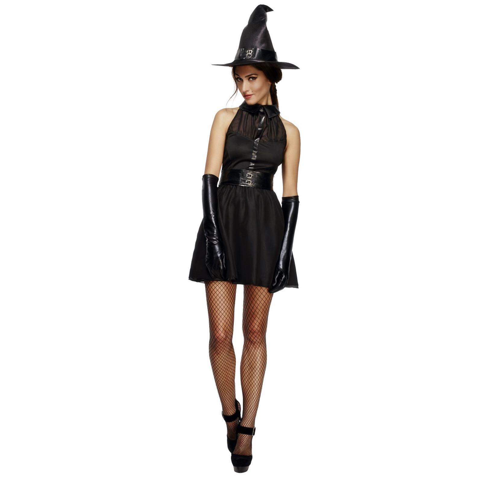 69133c4dd0a Details about Adult Ladies Bewitching Vixen Wicked Witch OZ Harry Fancy  Dress Book Day Costume