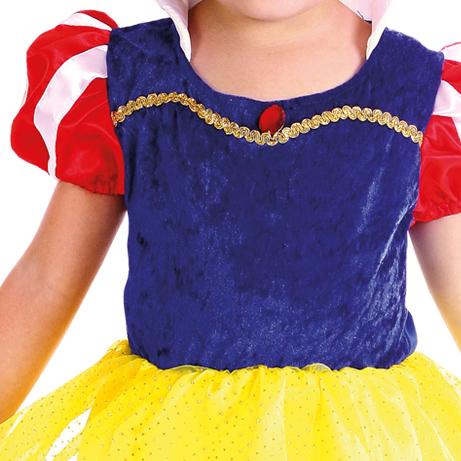 niña 3-4 AÑOS blancanieves princesa cuento de Hadas Vestido Niño ...